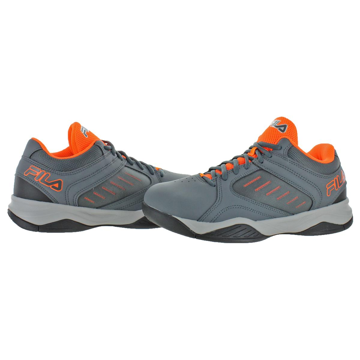 Fila-Men-039-s-Bank-Casual-Lace-Up-Low-Top-Court-Basketball-Athletic-Shoes thumbnail 6