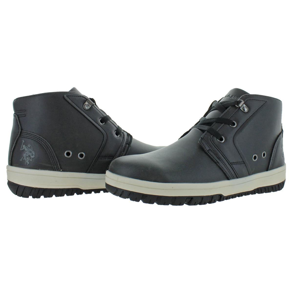thumbnail 3 - U.S. Polo Assn. Bruno Men's Fashion Chukka Ankle Boots
