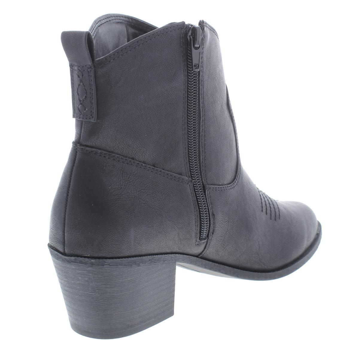 Style & Co. Damenschuhe Mandyy Faux Leder Cowboy, Western BHFO Stiefel Heels BHFO Western 3299 f053b8