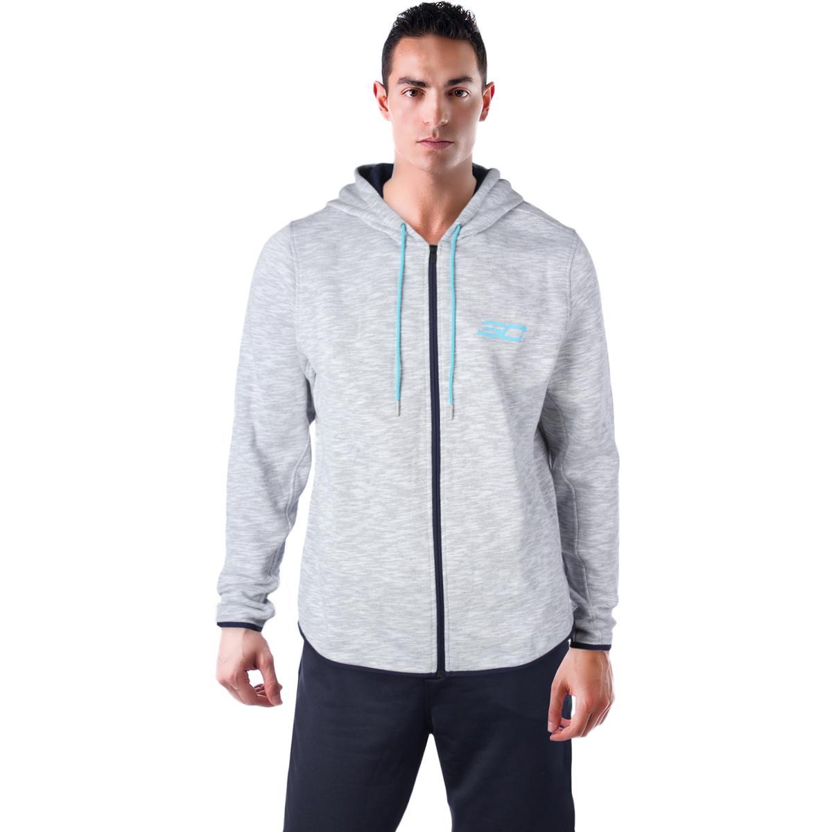 bdf7d640d Details about Under Armour Steph Curry SC 30 Men s Zip Up Hooded Sweatshirt