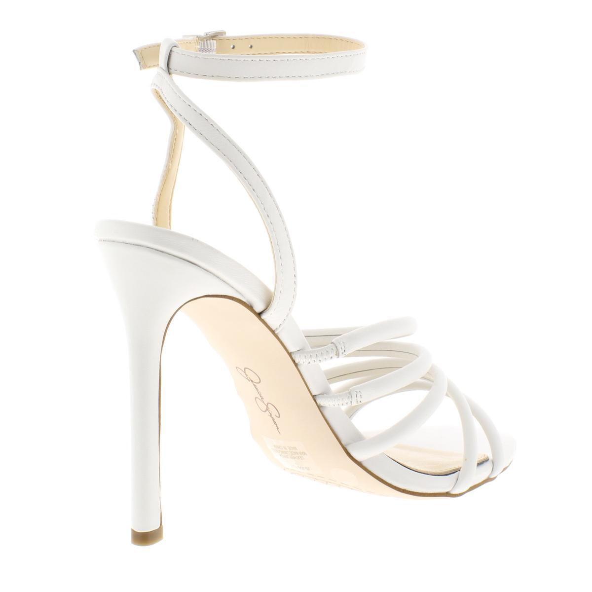 Jessica-Simpson-Femme-Joselle-a-Lanieres-Talon-Haut-Robe-Sandales-Chaussures-BHFO-7879 miniature 10