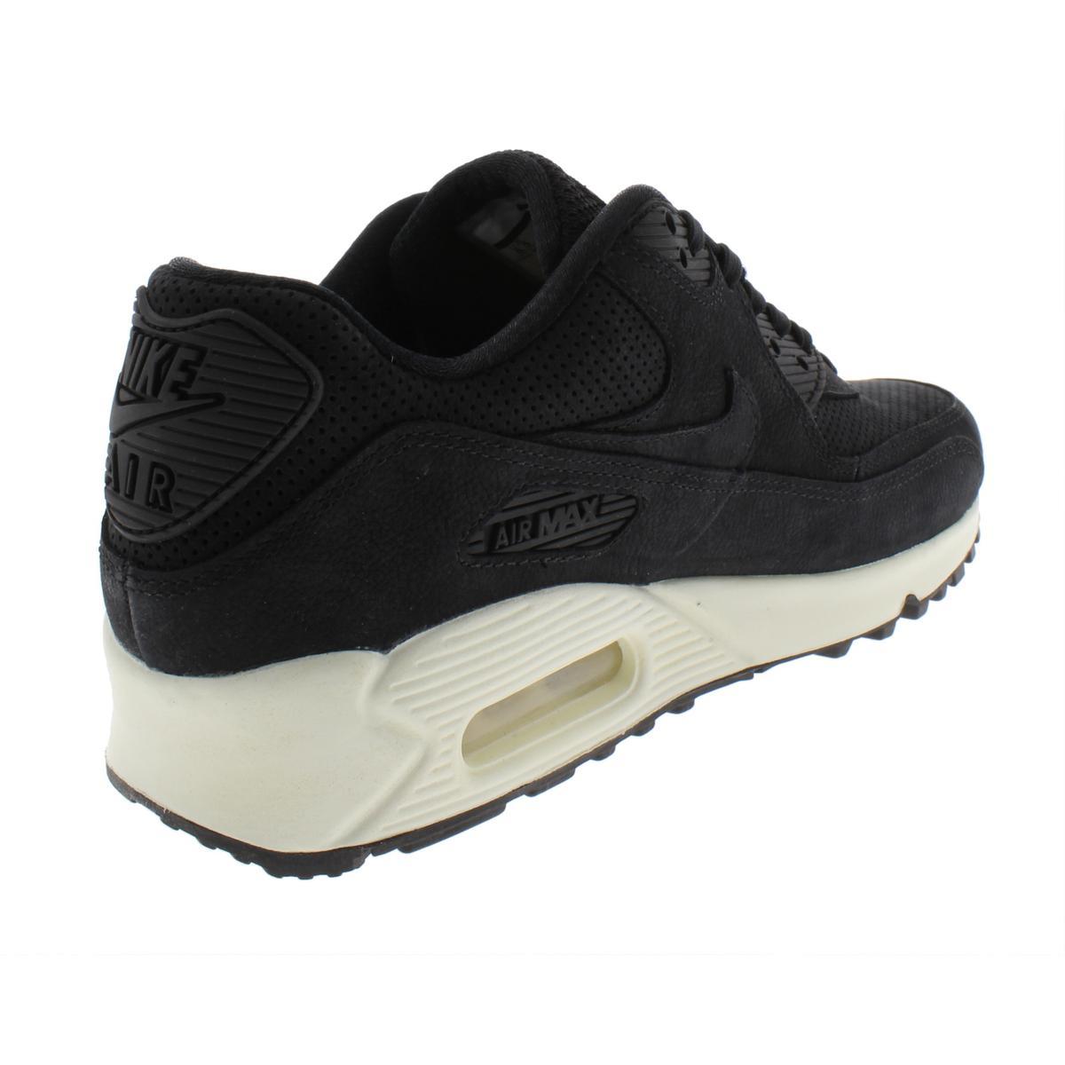 Nike-Womens-Air-Max-90-Pinnacle-Suede-Low-Top-Fashion-Sneakers-Shoes-BHFO-4140 thumbnail 4