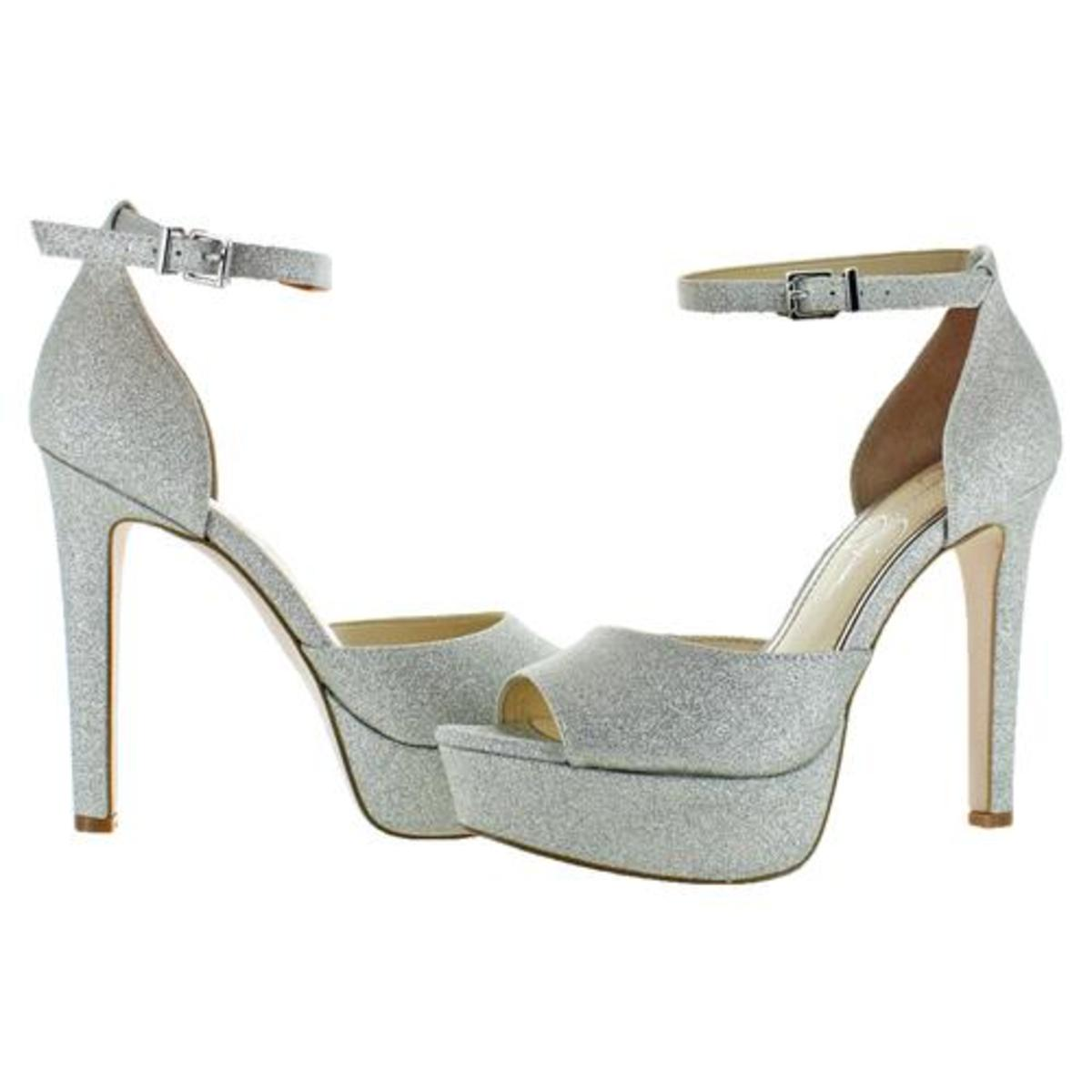 Jessica-Simpson-Women-039-s-Beeya-Ankle-Strap-Platform-Heeled-Sandals-Shoes thumbnail 11