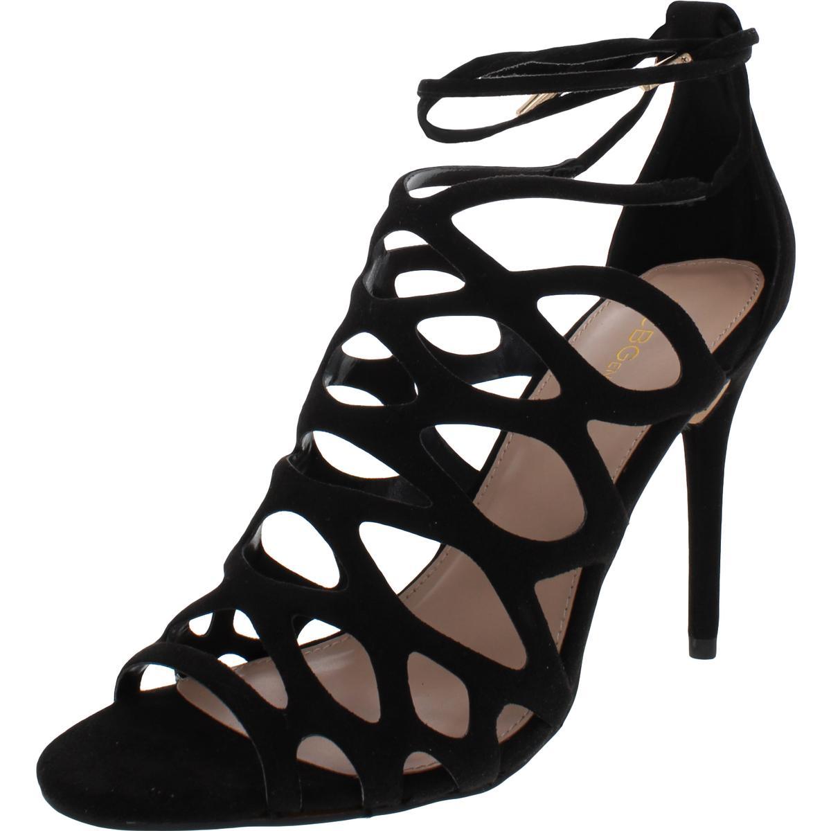 BCBGeneration-Womens-Joanna-Metallic-Caged-Dress-Sandals-Shoes-BHFO-8380 thumbnail 4