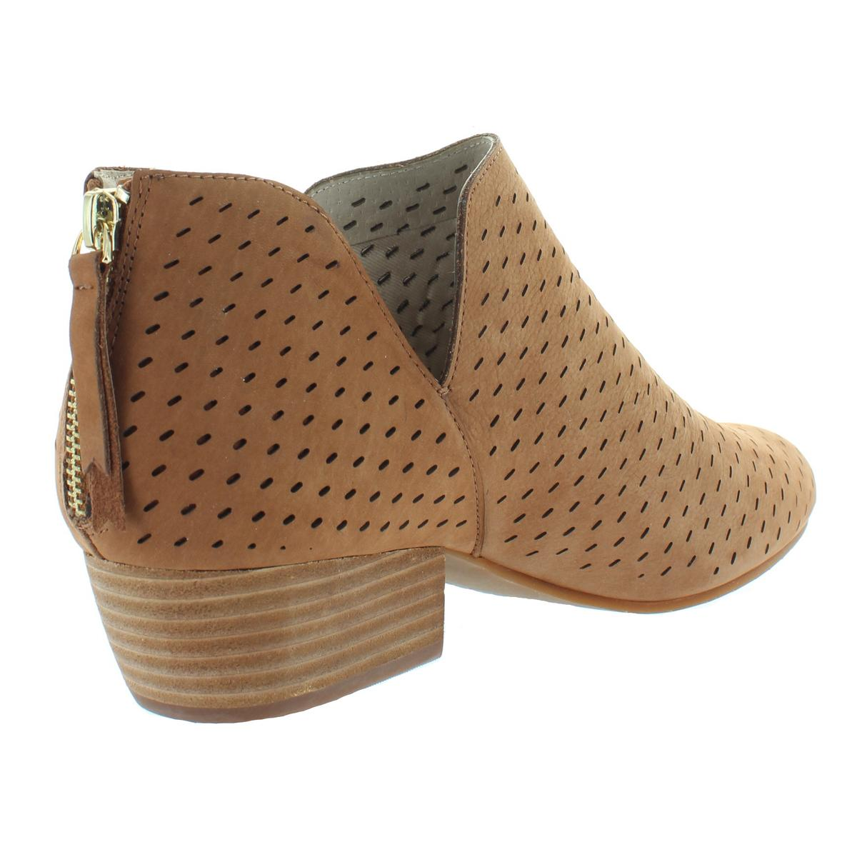 Kenneth Cole New York Womens Cooper7 Leather Leather Leather Ankle Booties Heels BHFO 4314 1023f8