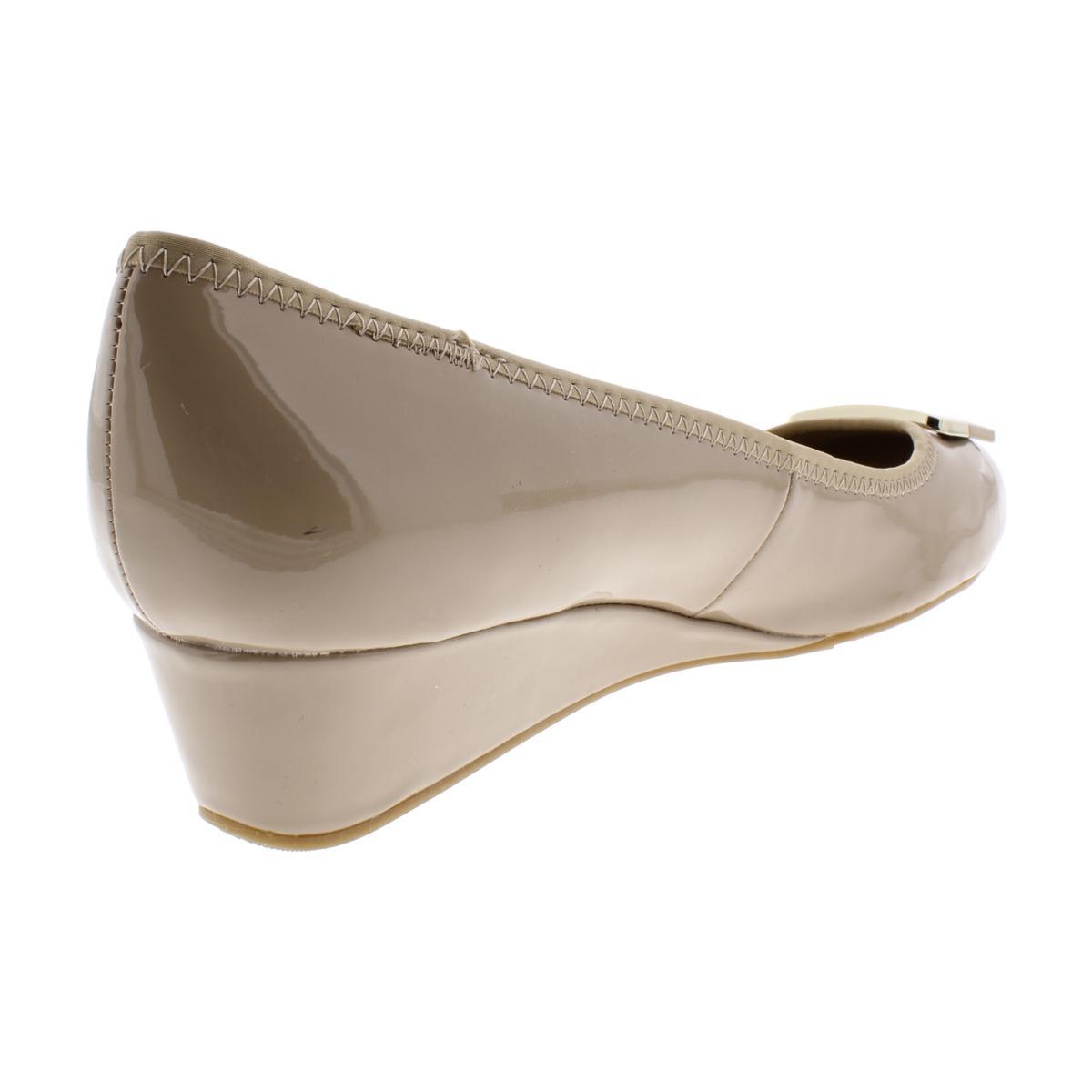 Bandolino-Womens-Tad-Padded-Insole-Round-Toe-Dressy-Wedge-Heels-Shoes-BHFO-3570 thumbnail 6