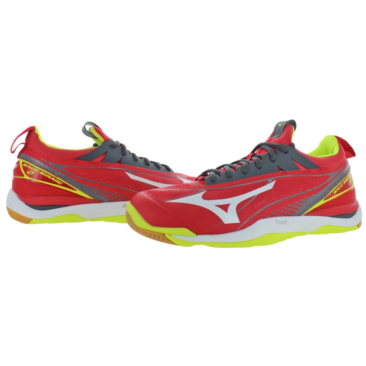 Mizuno-Mens-Wave-Mirage-2-Non-Marking-Handball-Lace-Up-Sneakers-Shoes-BHFO-9072 thumbnail 8