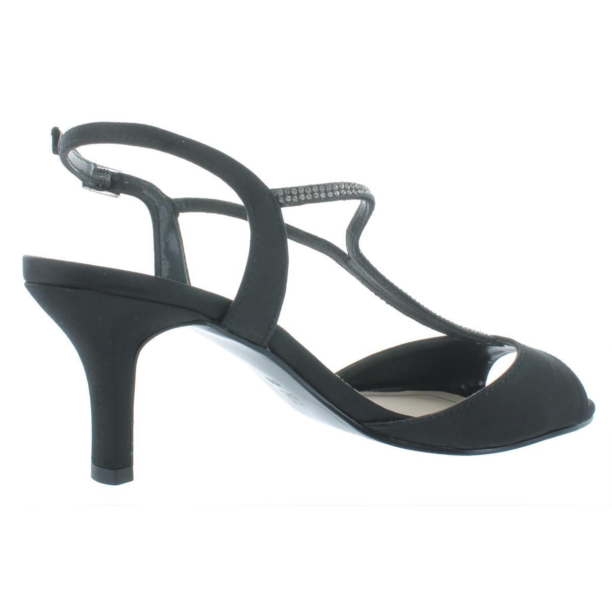 Caparros-Womens-Delicia-Rhinestone-Open-Toe-Evening-Heels-Shoes-BHFO-9353 thumbnail 4
