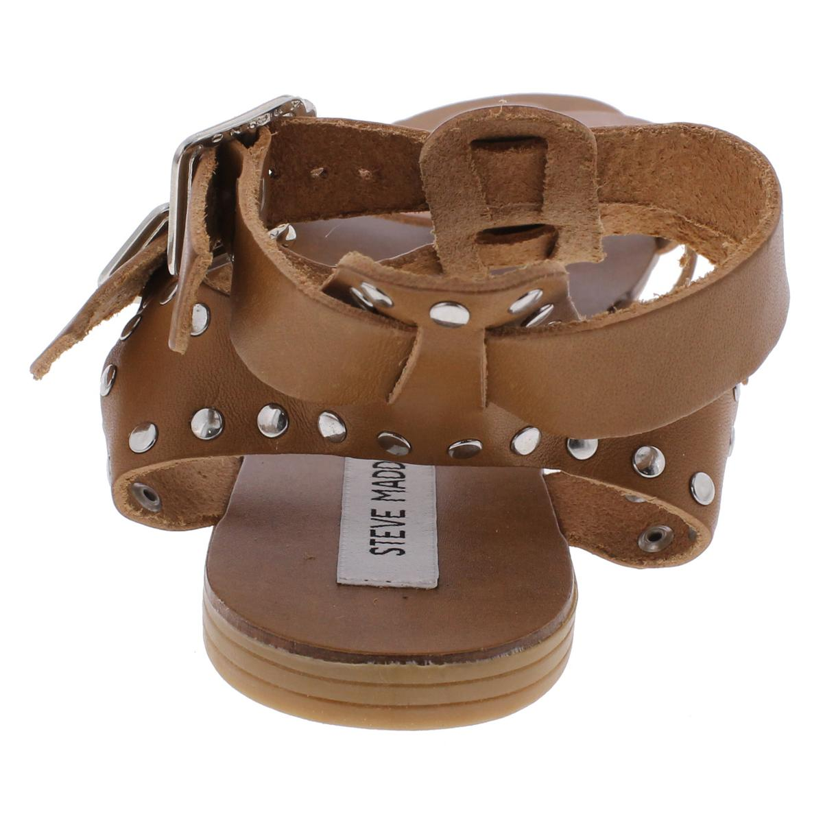 Steve-Madden-Womens-Lucy-Open-Toe-Studded-Strappy-Dress-Sandals-Shoes-BHFO-1682 thumbnail 11