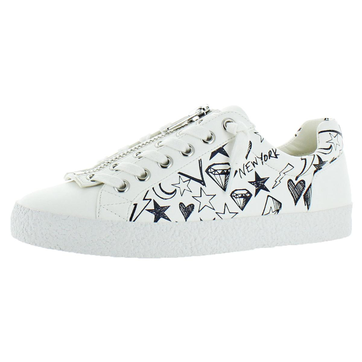 4f225988890 Details about Steve Madden Womens Guilty White Fashion Sneakers 5.5 Medium  (B