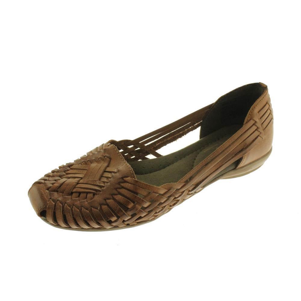 Tan Womens Huarache Shoes   Medium