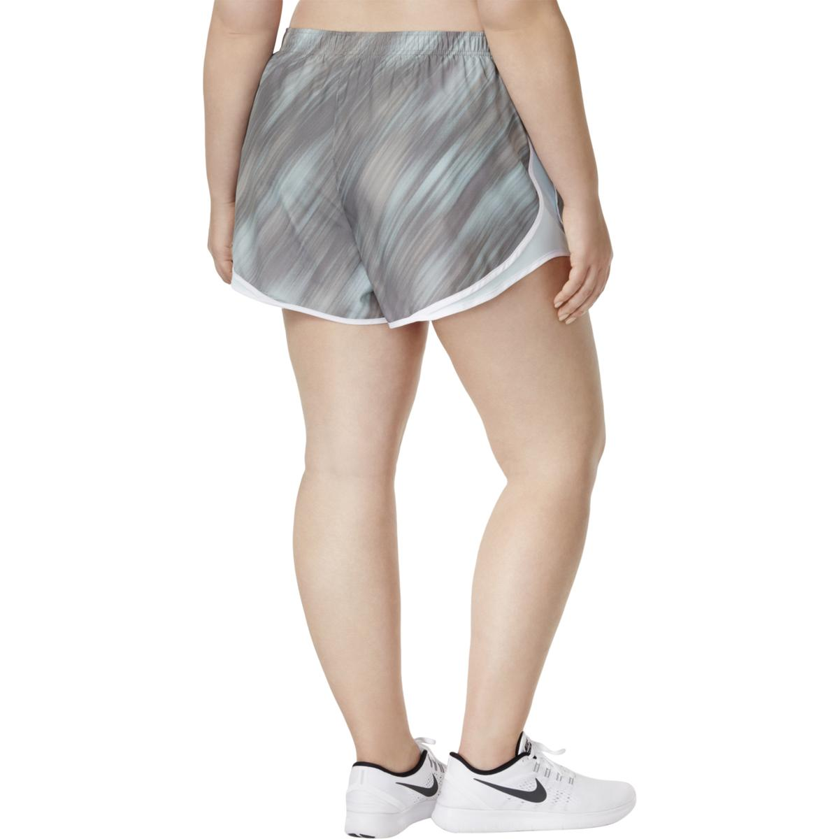 b93ecfc21884e Nike Womens Plus Size Workout Dri-Fit Tempo Track Athletic Running ...