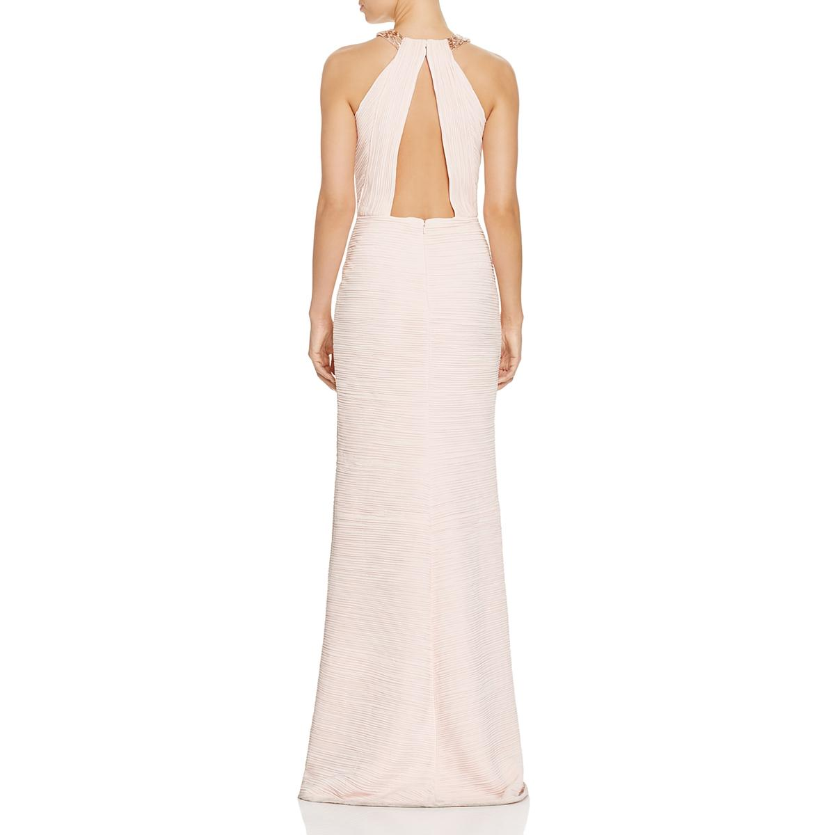 8d77213b26c3 Details about Carmen Marc Valvo Pink Women's Evening Dress Special Occasion  Gown 10 BFHO 9279