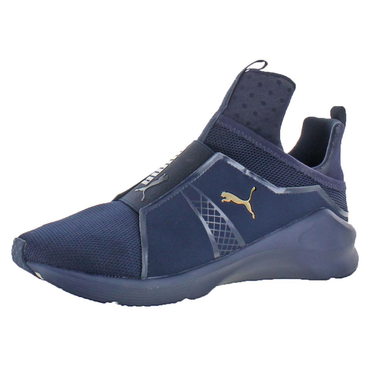 c37ebed15cd5e0 Details about Puma Mens Fierce Core Mono Navy Trainers Sneakers 11 Medium  (D) BHFO 5426
