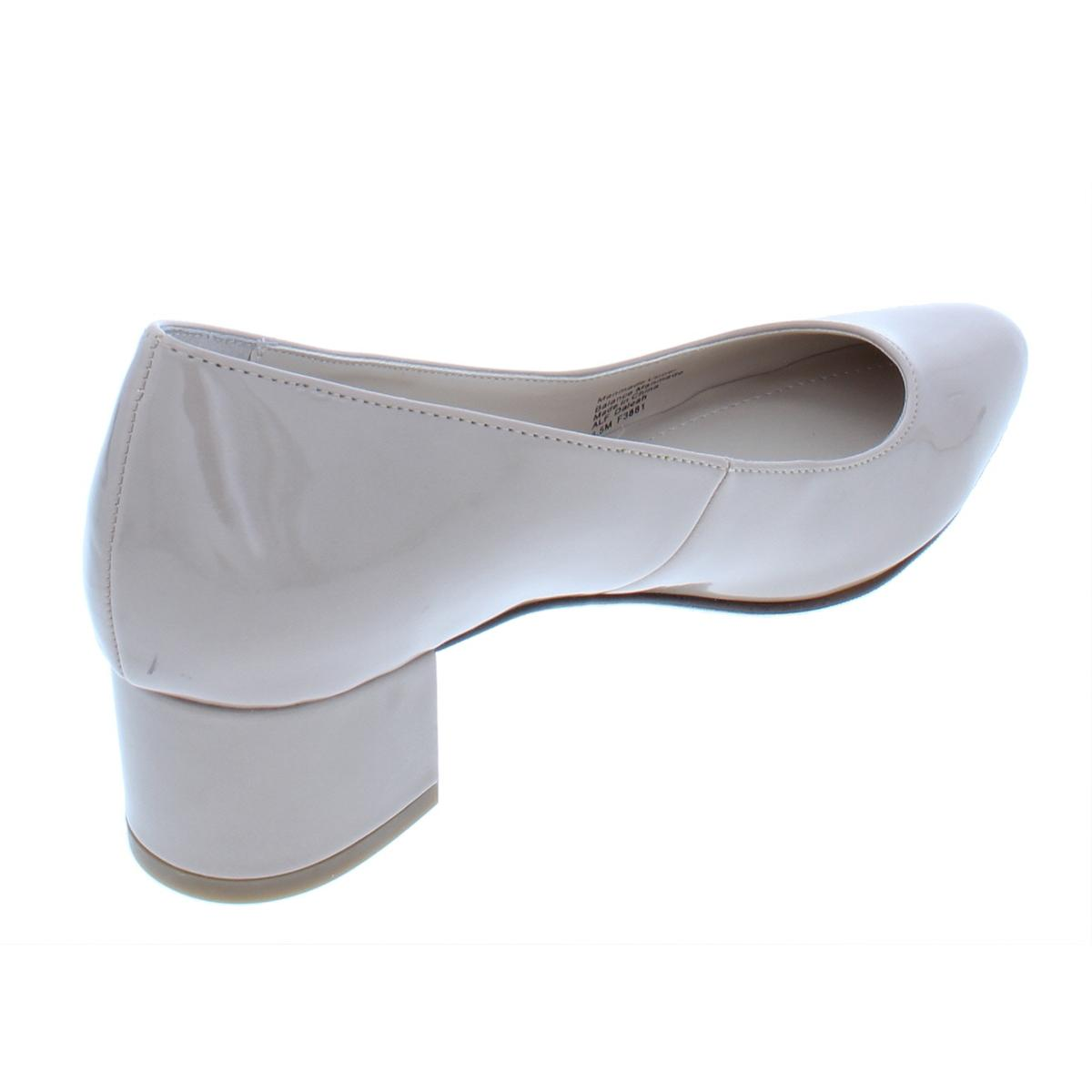 Alfani-Womens-Daleah-Padded-Insole-Block-Heel-Almond-Toe-Pumps-Shoes-BHFO-4725 thumbnail 8