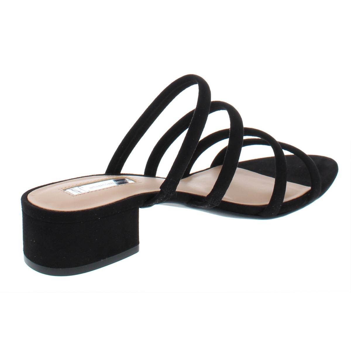 INC-Womens-Lamia-Strappy-Block-Heel-Open-Toe-Strappy-Sandals-Shoes-BHFO-6438 thumbnail 4