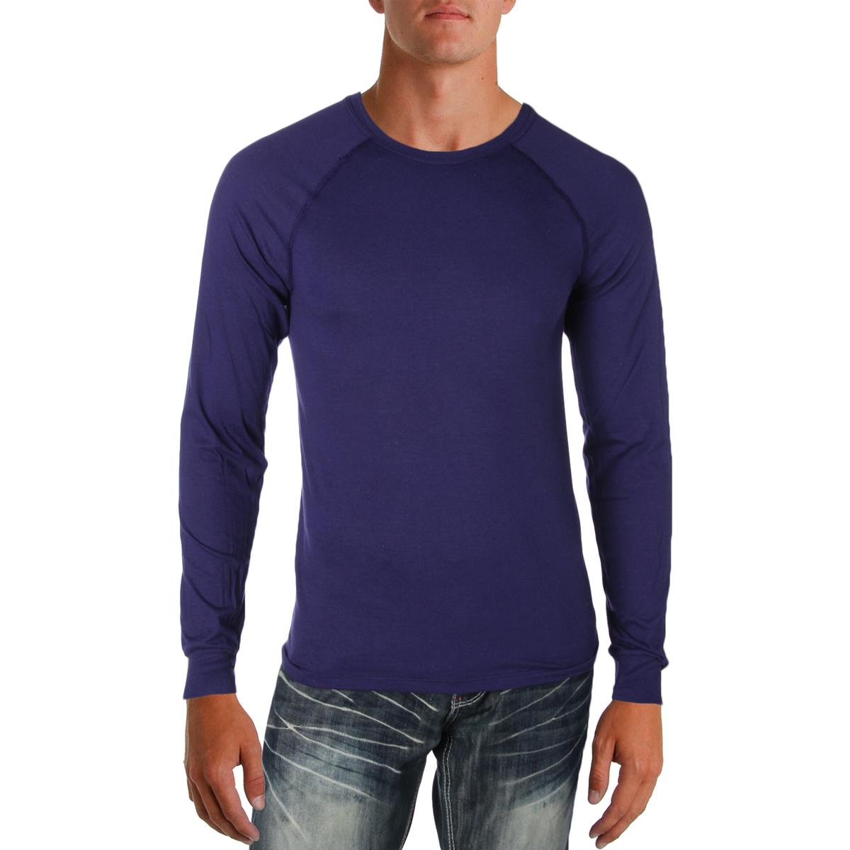 Champion-Men-039-s-Fitness-Long-Sleeve-Athletic-Champ-Tee-Workout-Shirt-BHFO
