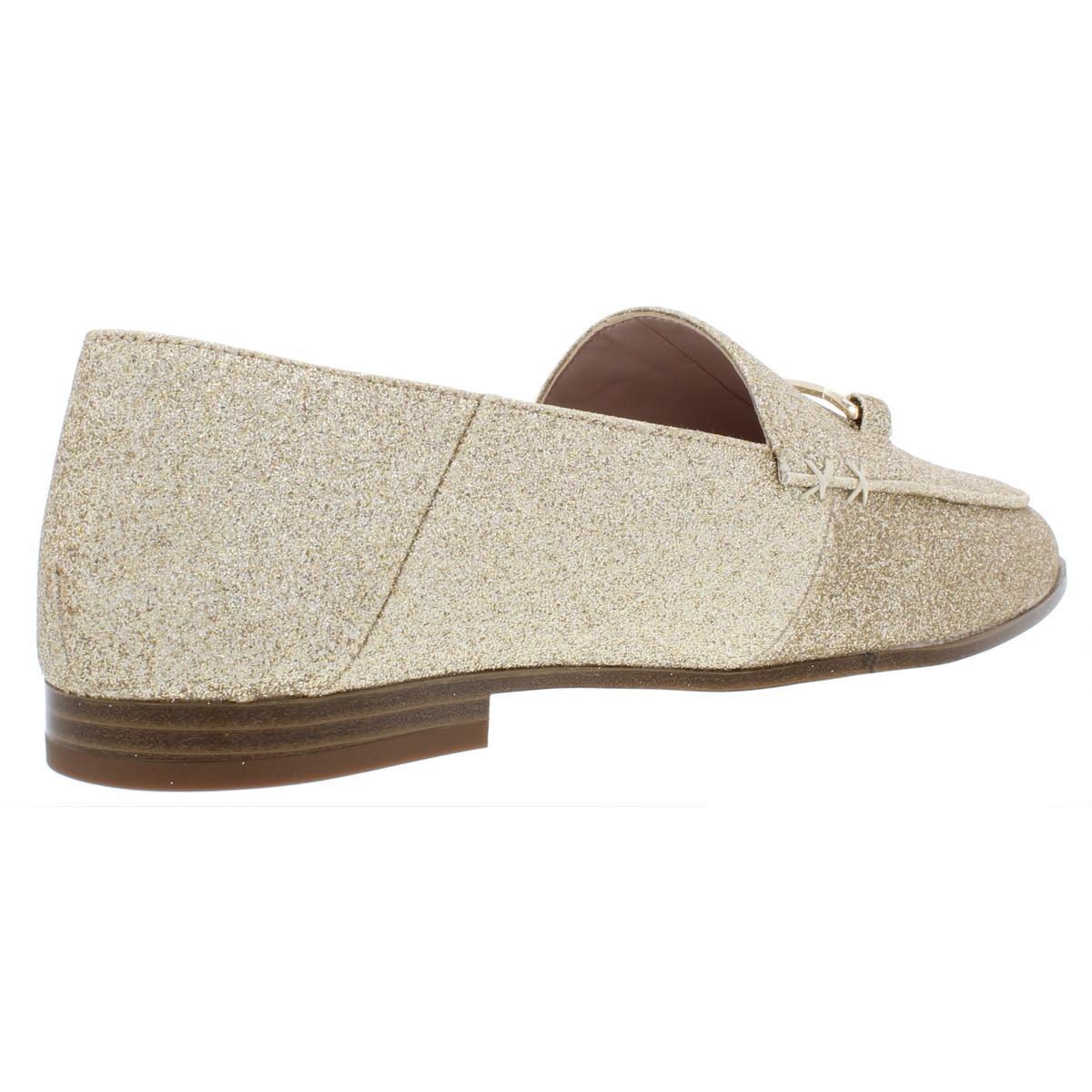Nine-West-Womens-Wildgirls-Glitter-Slip-On-Embellished-Flats-Shoes-BHFO-8209 thumbnail 4