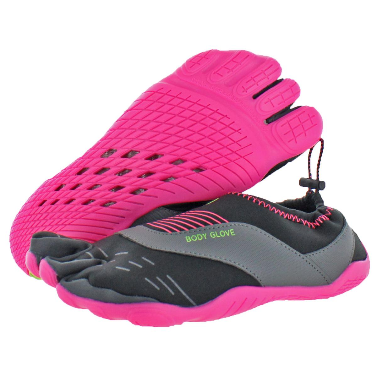Body-Glove-Women-039-s-Cinch-Neoprene-Barefoot-Minimalist-Three-Toe-Water-Shoes thumbnail 4