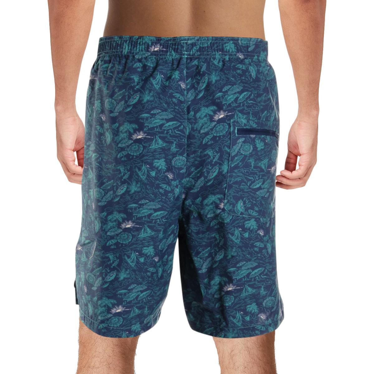 Columbia-Mens-Big-Dippers-Printed-Swim-Trunks-Swimsuit-Big-amp-Tall-BHFO-5580 thumbnail 9