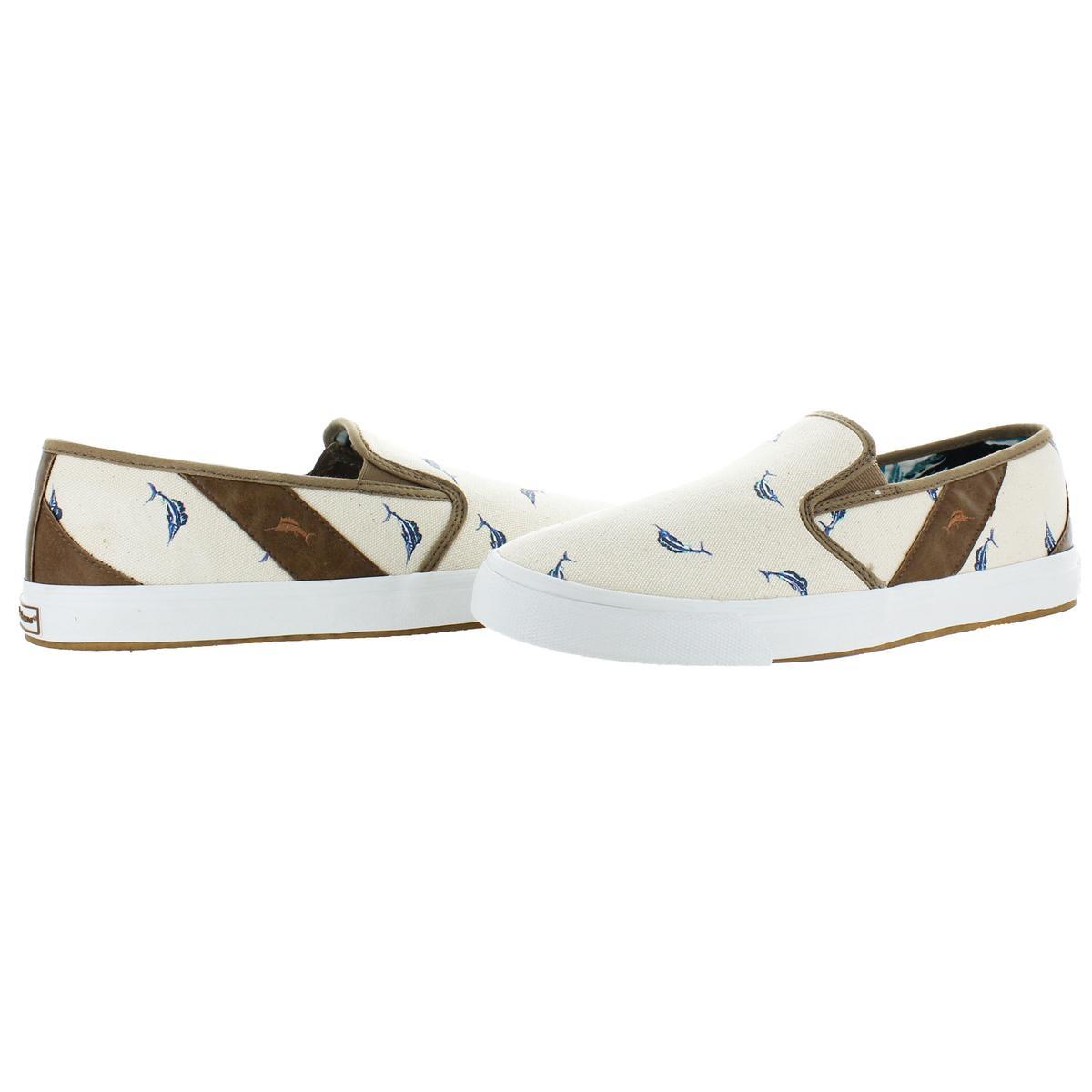 Tommy Bahama Uomo Pacific Ridge Flats Scarpe Flexible Loafers Scarpe Flats BHFO 5449 ac1a14