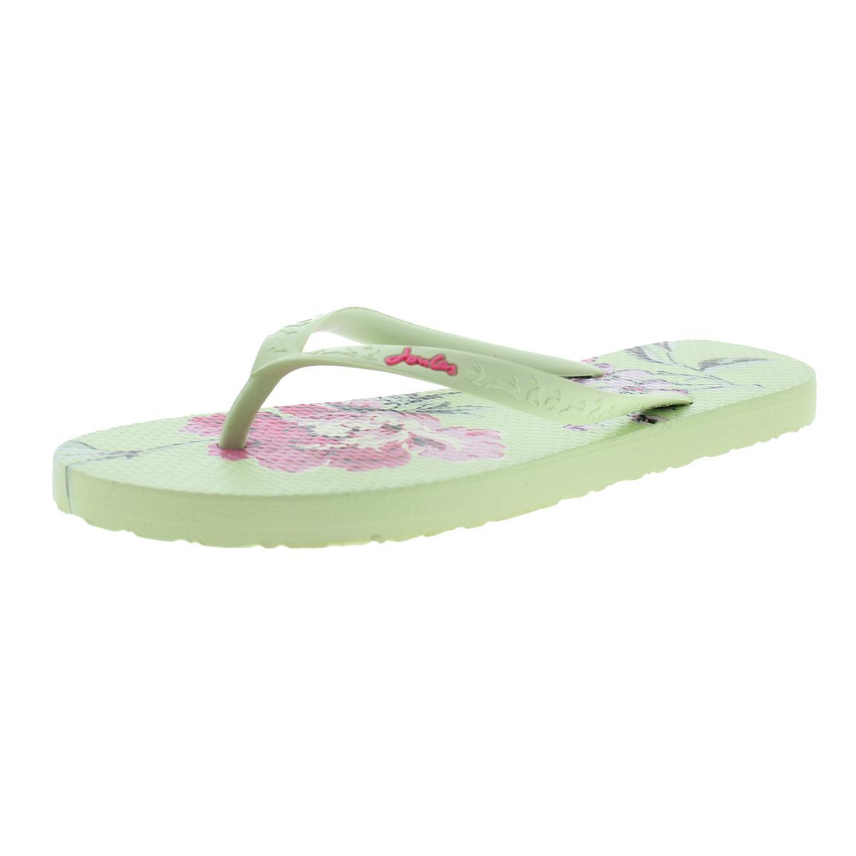 Joules Womens Sandy Thong Textured Sandals Flip-Flops -2318