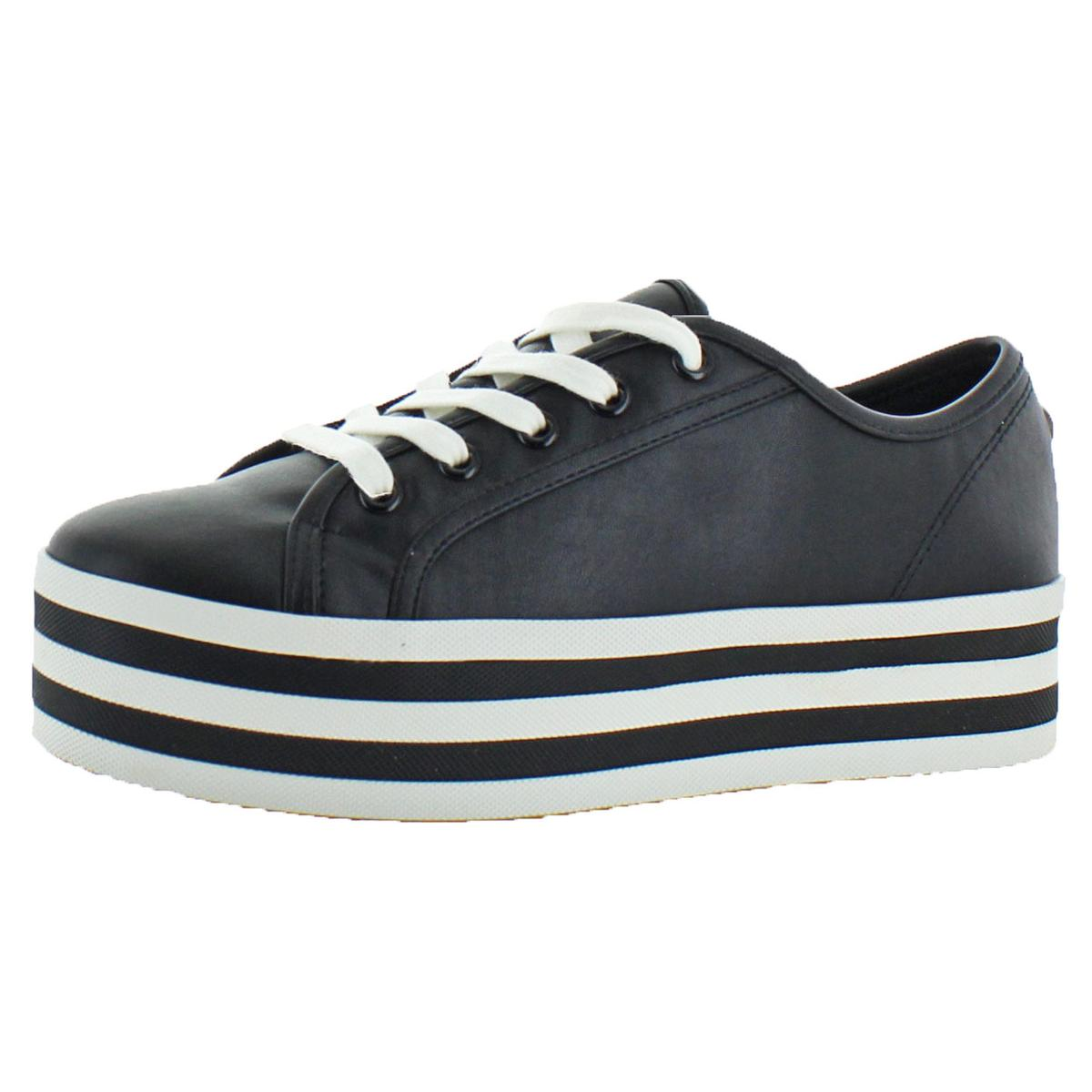 8afe3894f49 Details about Steve Madden Womens Rainbow Black Fashion Sneakers 10 Medium  (B
