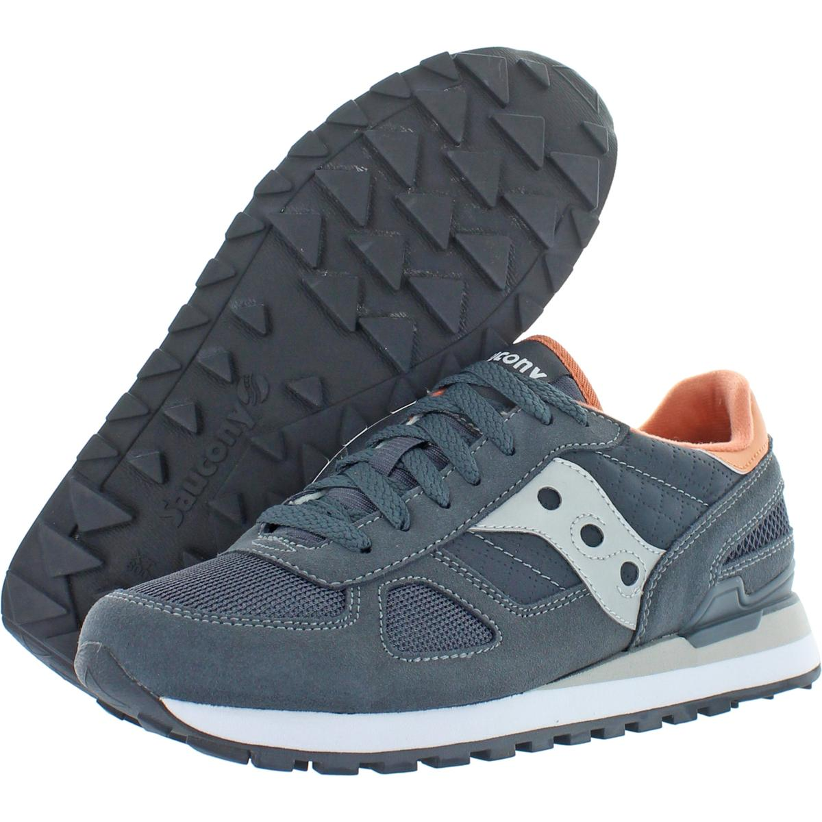 Saucony-Mens-Shadow-Original-Trainers-Suede-Comfort-Sneakers-Shoes-BHFO-0431 miniatuur 13
