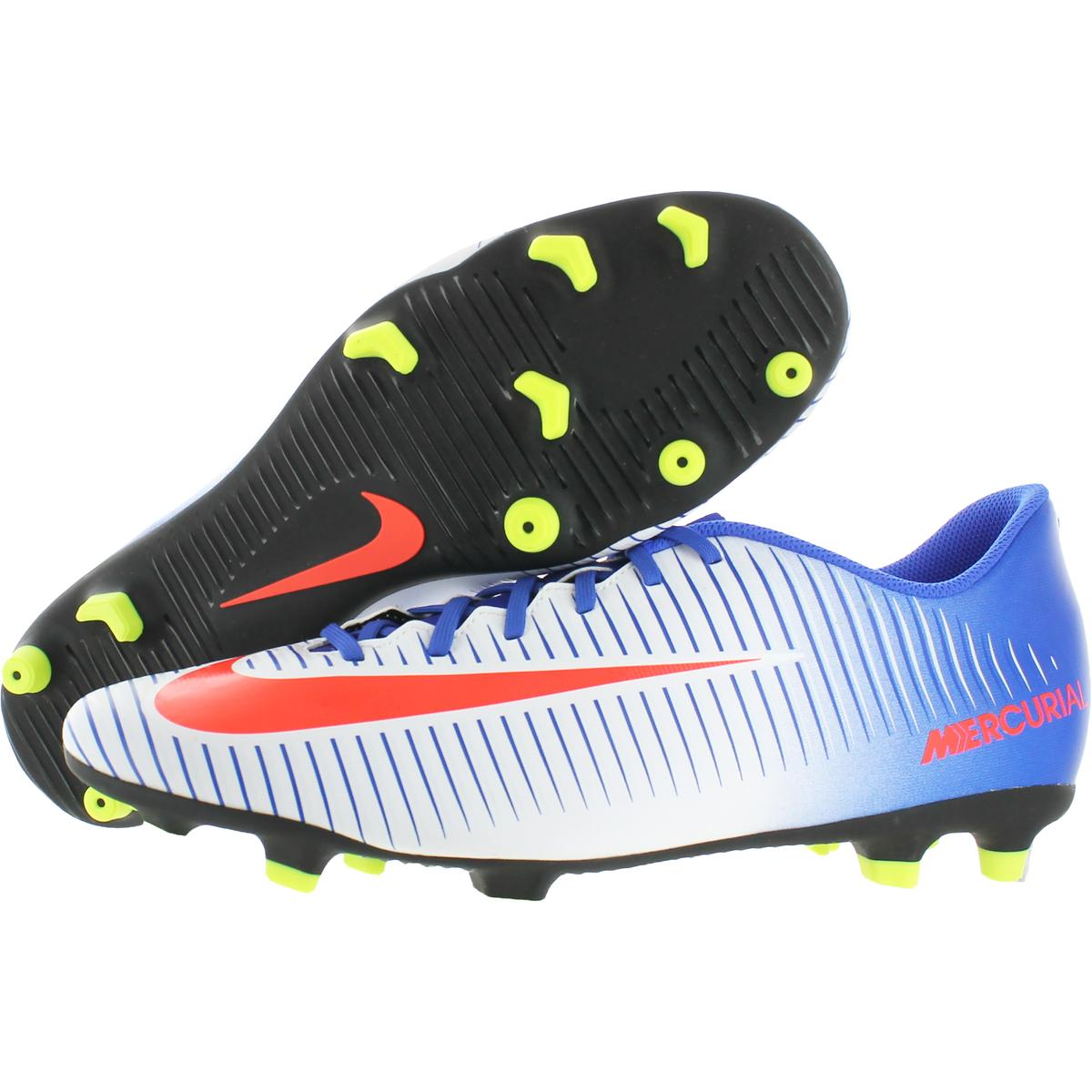detailed look 25b91 af27f Nike Womens Mercurial Vortex 3 FG White Cleats Shoes 13 Medium (B,M ...