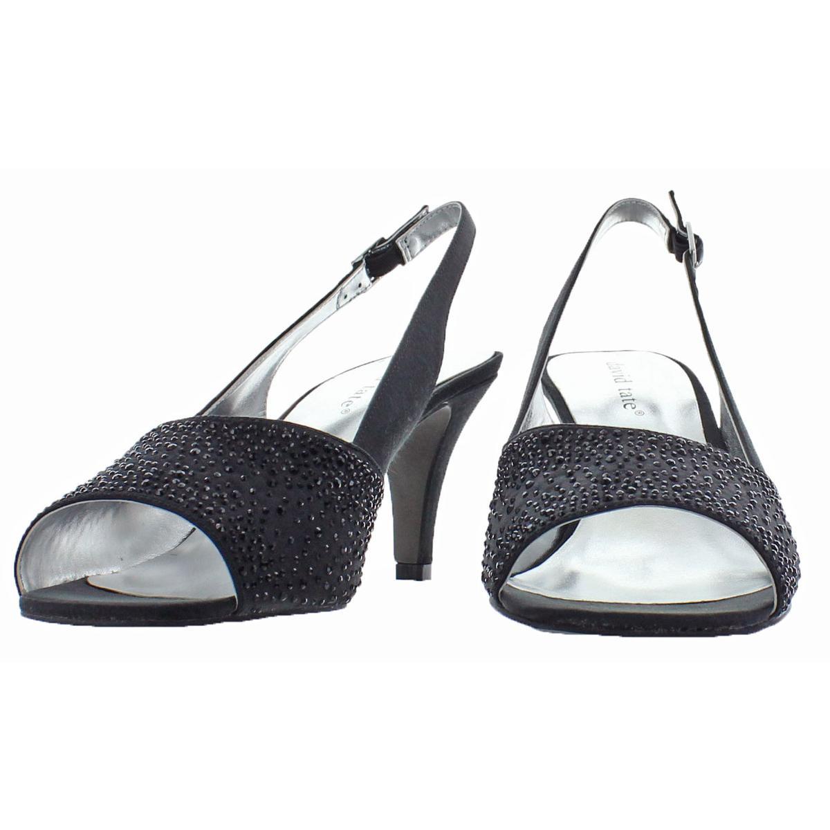 David-Tate-Women-039-s-Stunning-Satin-Embellished-Slingback-Dress-Pump thumbnail 4