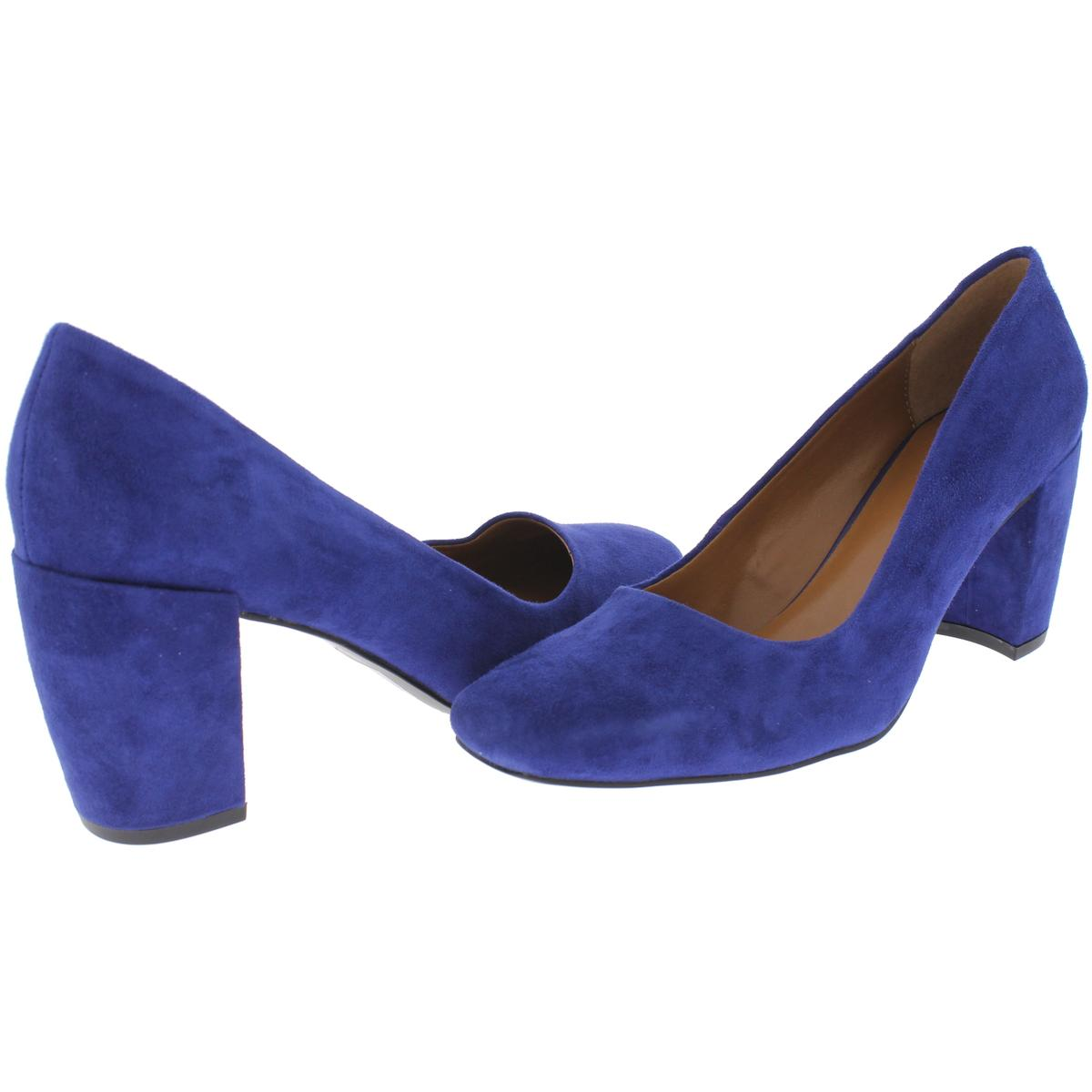 H-Halston-Womens-Whitney-Square-Toe-Block-Heel-Pumps-Shoes-BHFO-0883 thumbnail 9