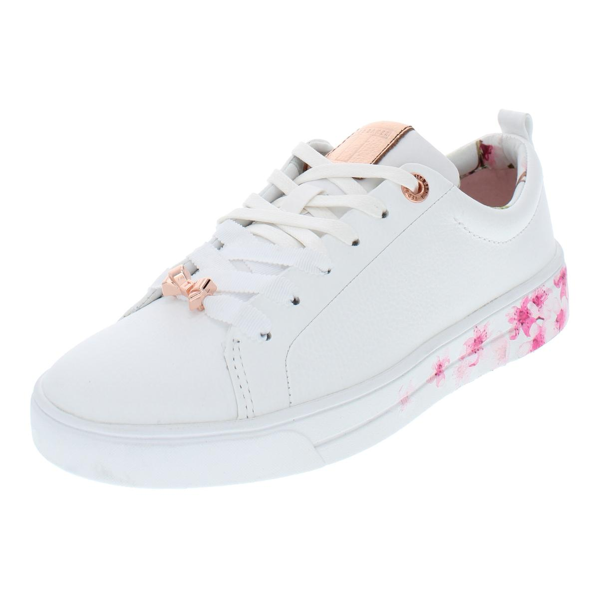 f3c637852 Details about Ted Baker Womens Kellep Leather Low Top Lace Up Fashion  Sneakers Shoes BHFO 3360