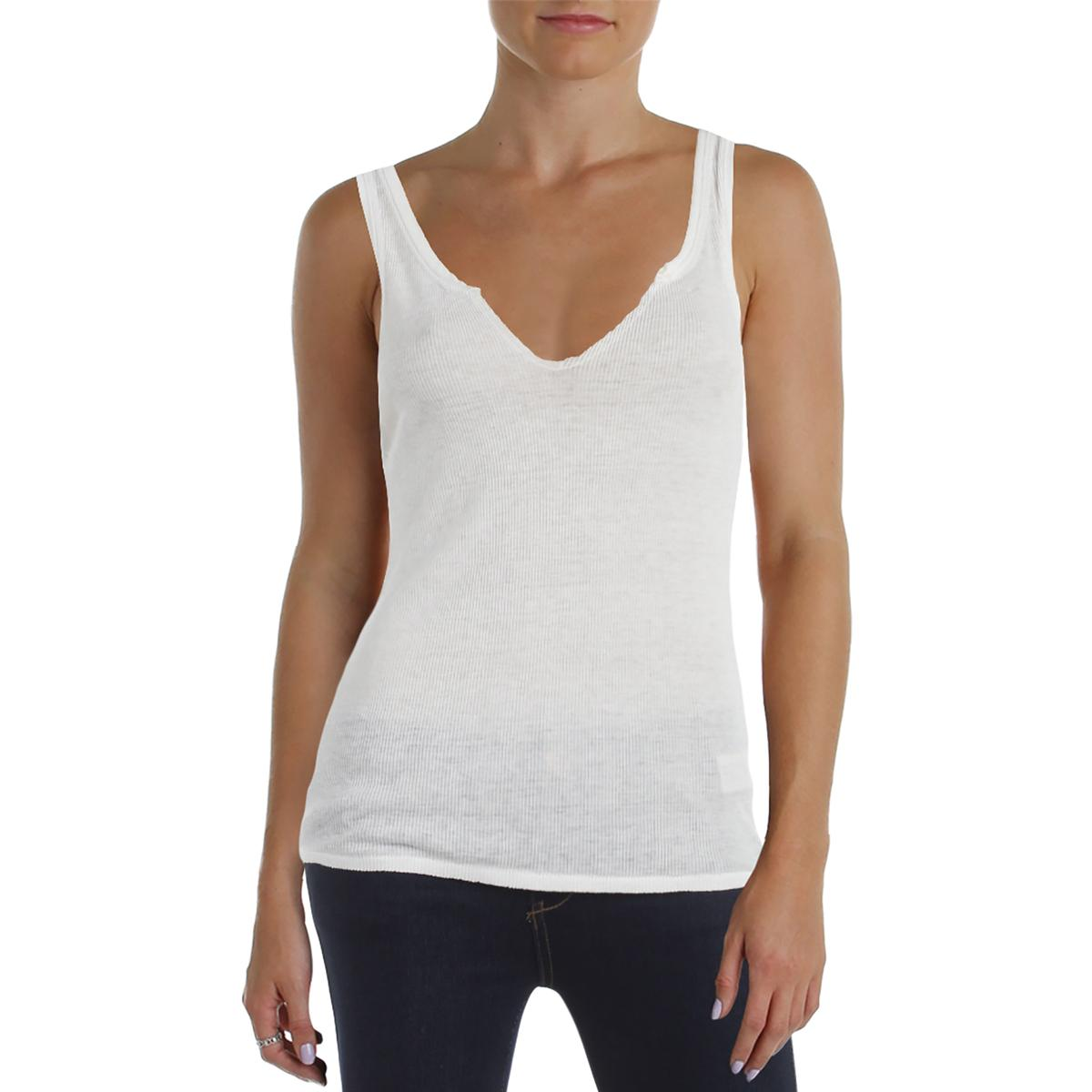 1fbc4c4f012c4 Details about Free People Womens Jersey Ribbed Sleeveless Tank Top Shirt  BHFO 9029