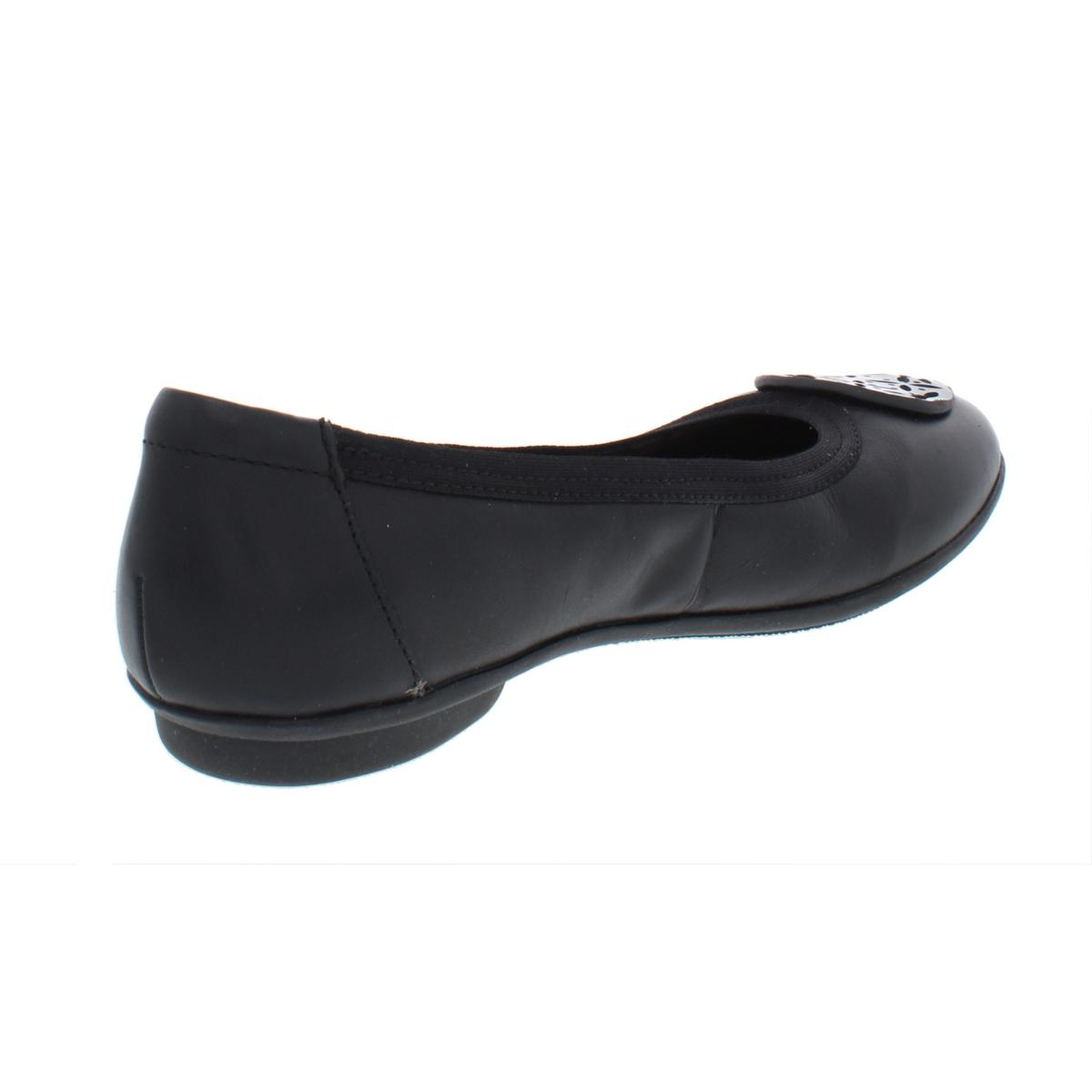 Clarks-Womens-Gracelin-Lola-Leather-Slip-On-Ballet-Flats-Shoes-BHFO-5342 thumbnail 4