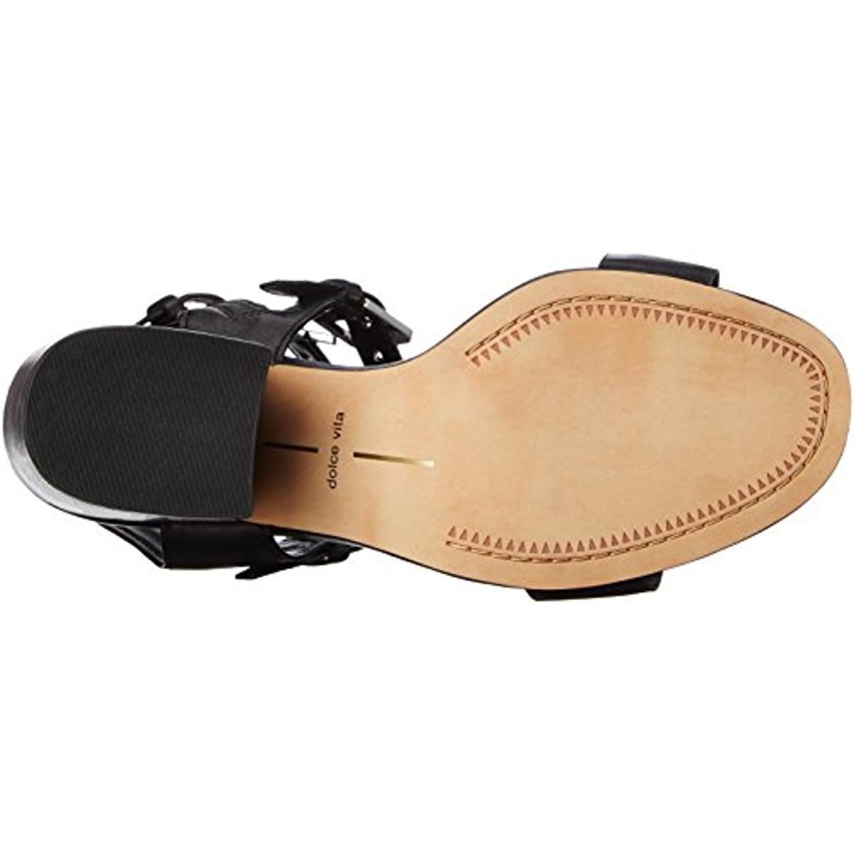 Dolce Vita Damenschuhe Edin Buckle Open Toe 5543 Casual Heels Sandales BHFO 5543 Toe b8bfec