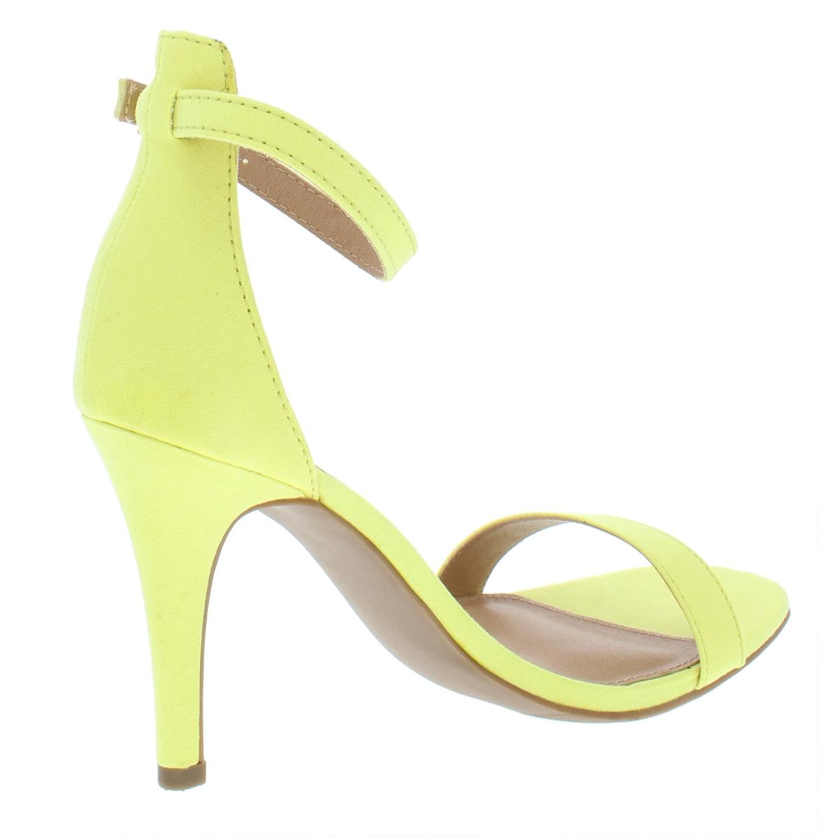 Material-Girl-Womens-Blaire5-Faux-Suede-High-Heel-Dress-Sandals-Shoes-BHFO-5216 thumbnail 6