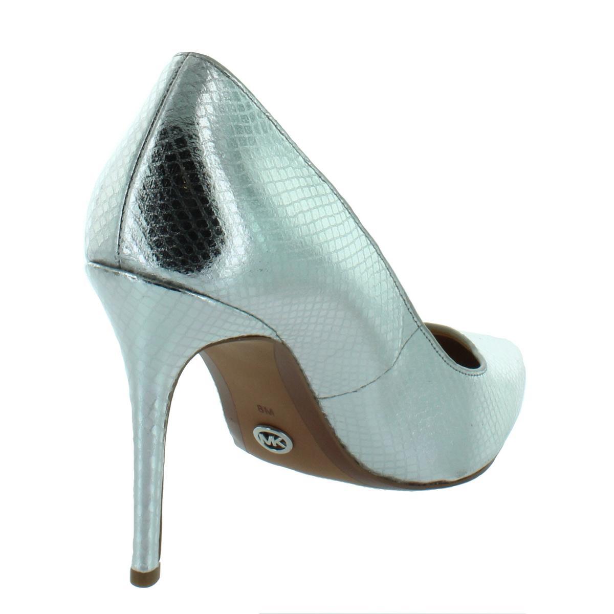 MICHAEL-Michael-Kors-Womens-Claire-Leather-Dress-Heels-Shoes-BHFO-5919 thumbnail 6