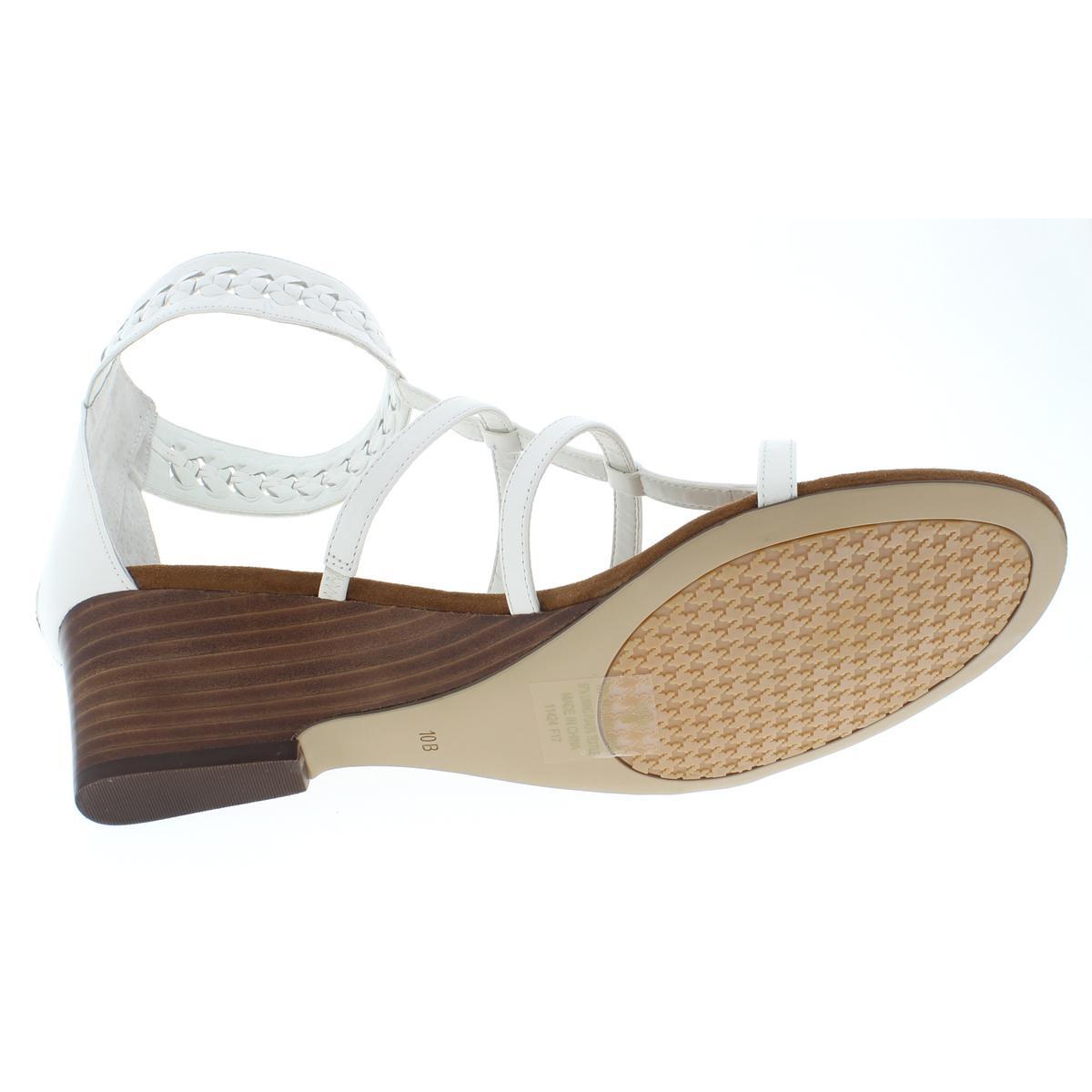 Lauren-Ralph-Lauren-Womens-Meira-Solid-Thong-Wedges-Sandals-BHFO-4677 thumbnail 7