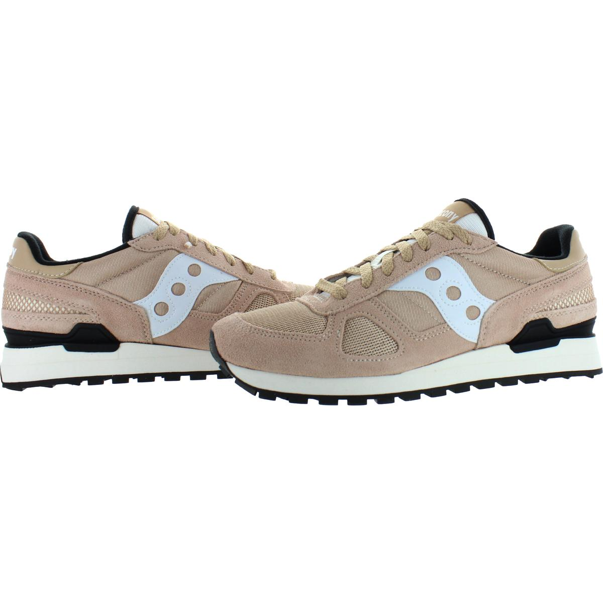 Saucony-Mens-Shadow-Original-Trainers-Suede-Comfort-Sneakers-Shoes-BHFO-0431 miniatuur 34