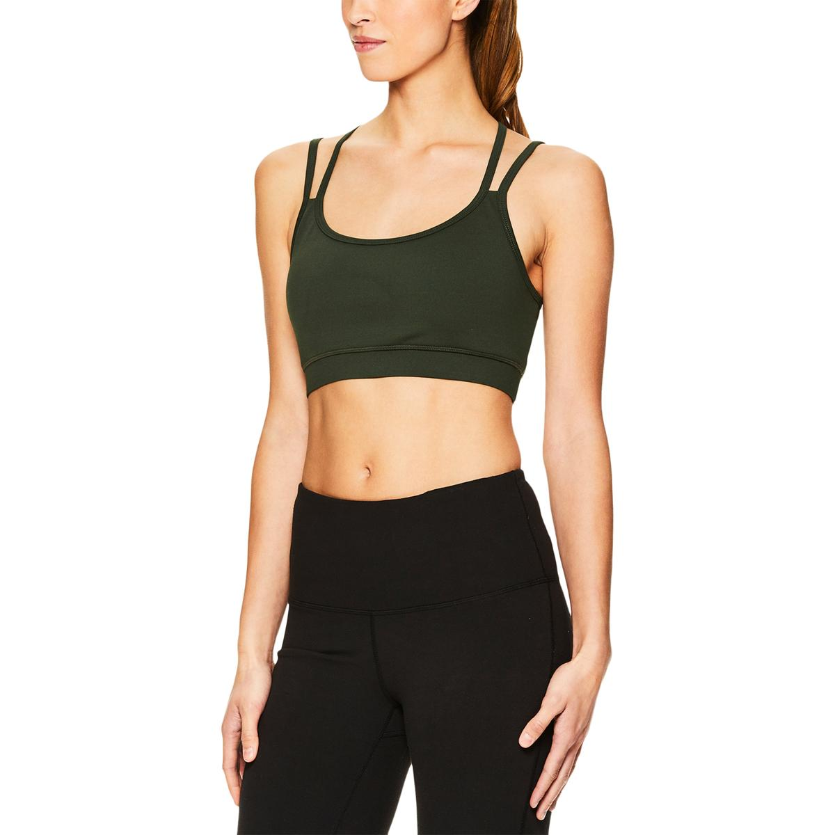 ca86155824 Details about Gaiam Womens Stella Fitness Yoga Running Sports Bra Athletic  BHFO 4034