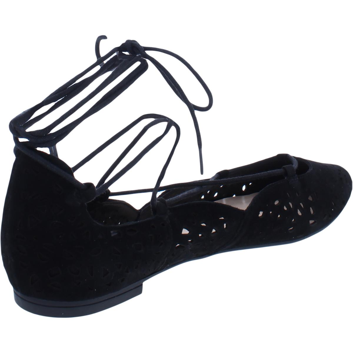 Nine-West-Womens-Zavanna-Suede-Padded-Insole-Ballet-Flats-Shoes-BHFO-3200 thumbnail 6