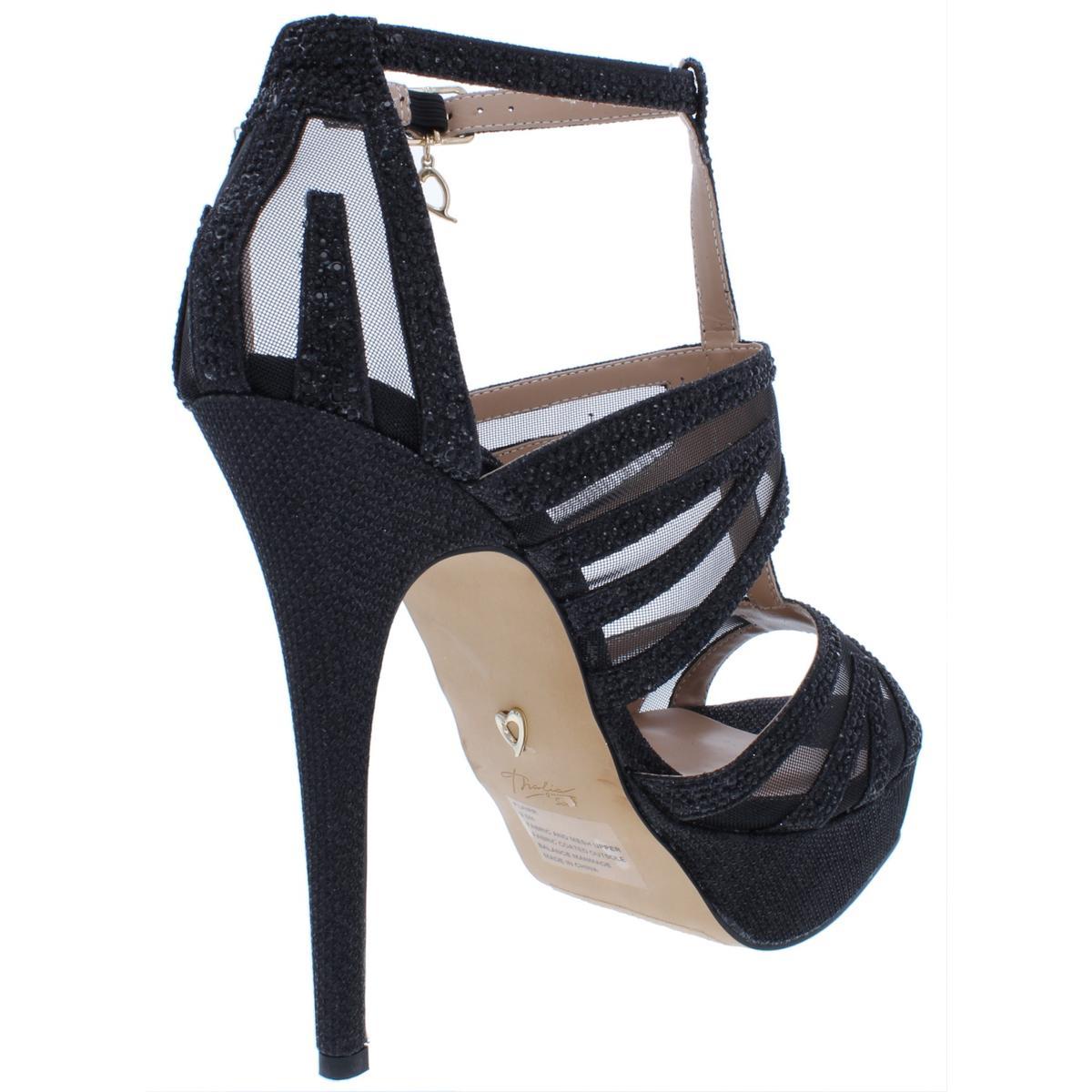 Thalia-Sodi-Womens-Flairr-Stilettos-Open-Toe-Evening-Heels-Platforms-BHFO-3444 thumbnail 4