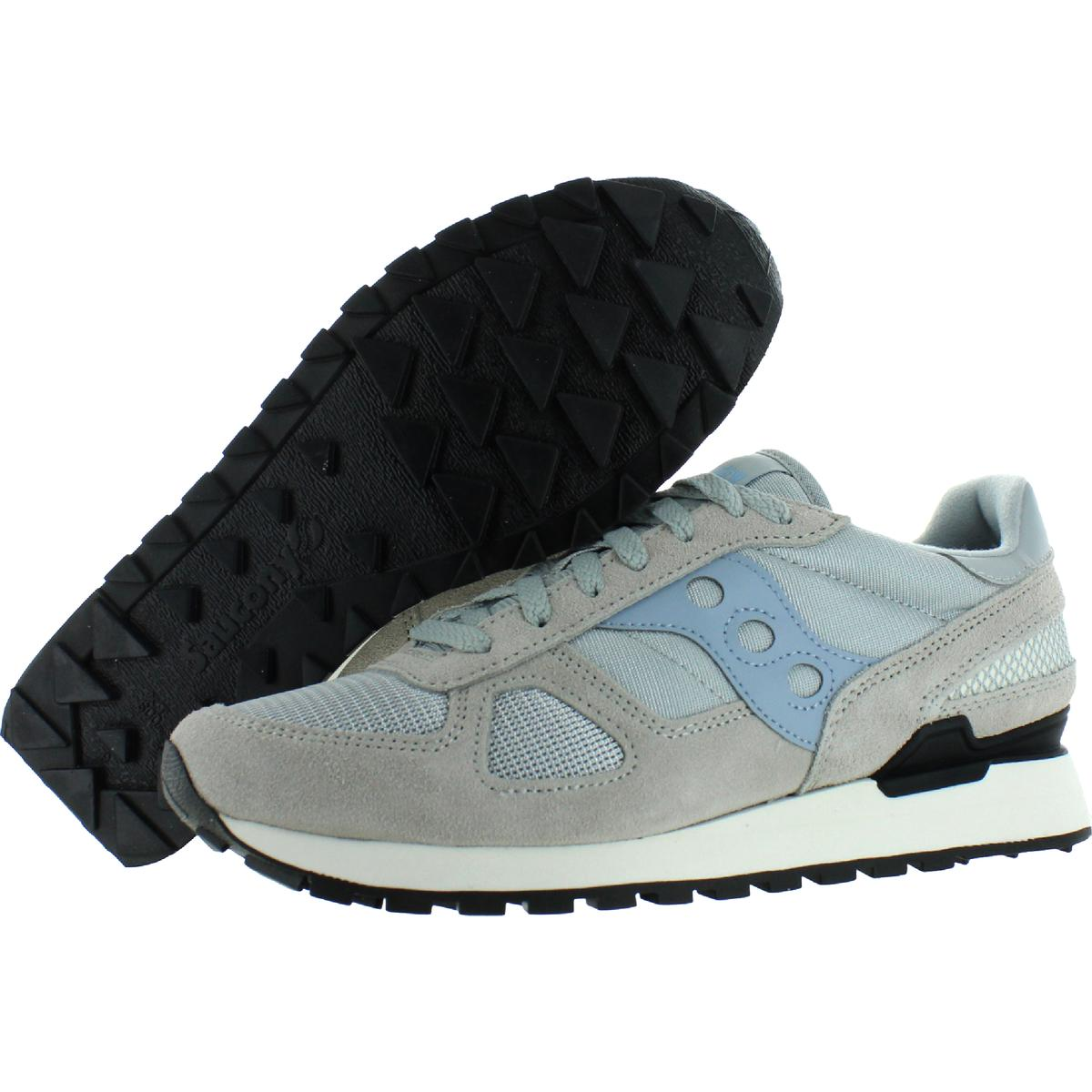 Saucony-Mens-Shadow-Original-Trainers-Suede-Comfort-Sneakers-Shoes-BHFO-0431 miniatuur 15