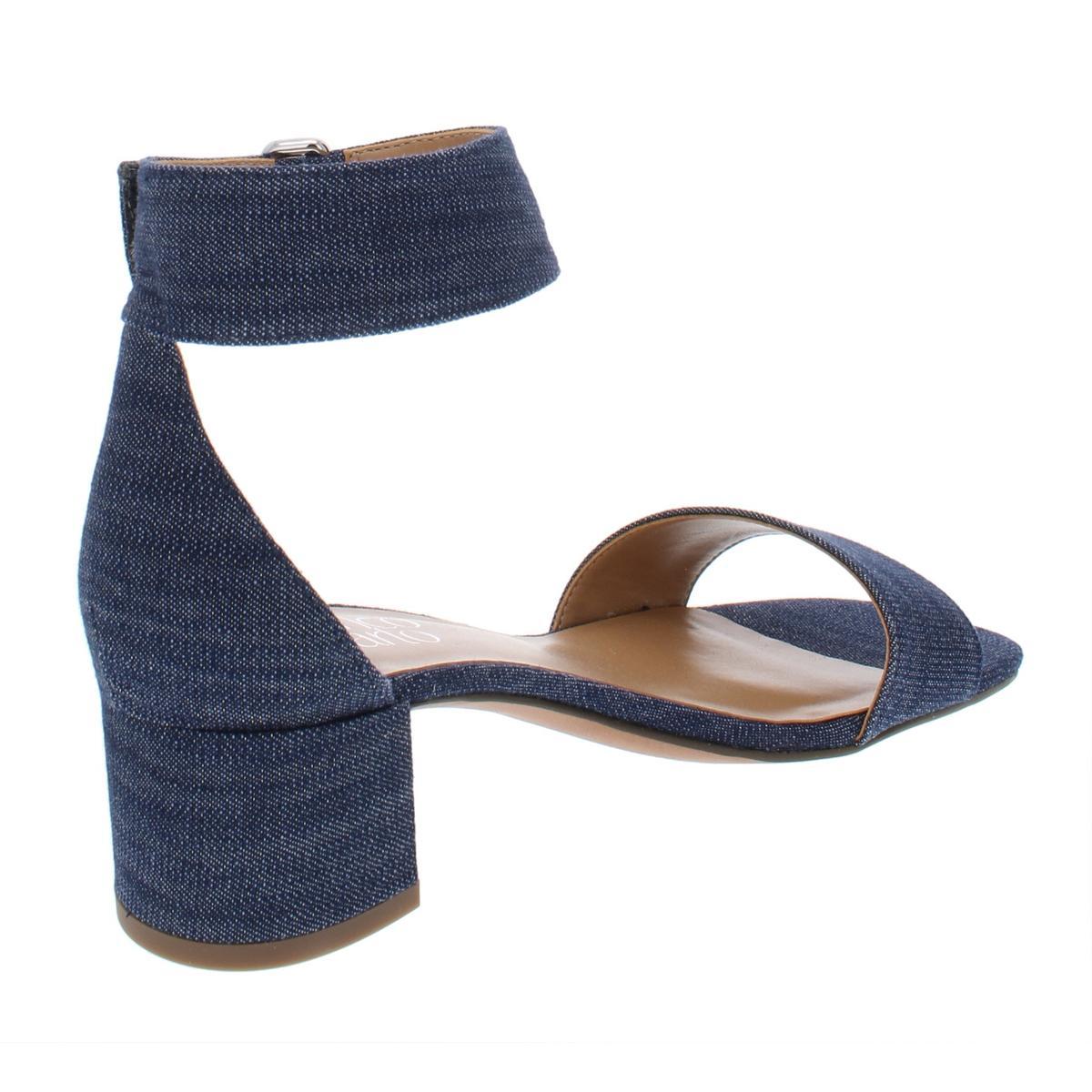 Franco-Sarto-Womens-Rosalina-Solid-Block-Heel-Dress-Sandals-Evening-BHFO-6957 thumbnail 4