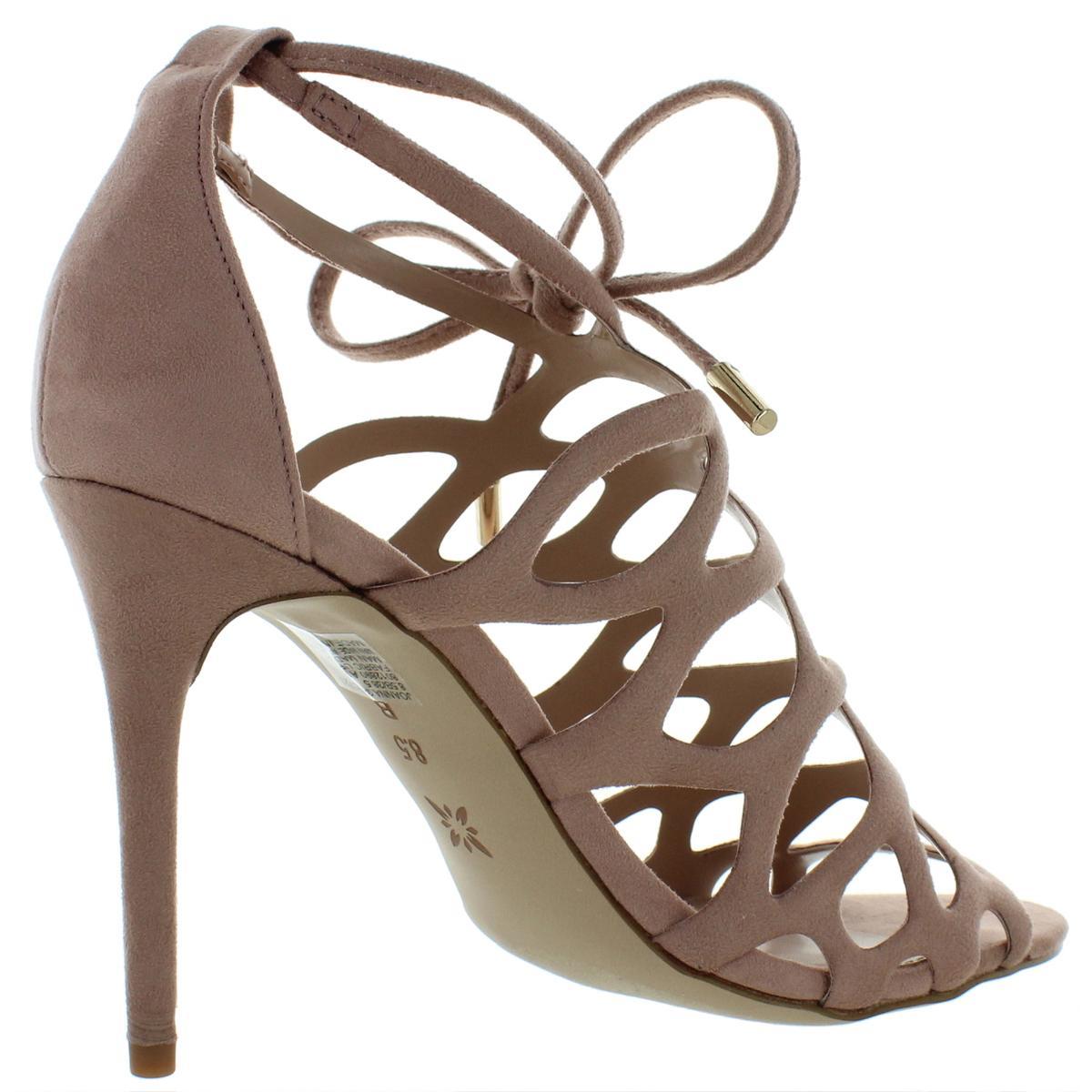 BCBGeneration-Womens-Joanna-Metallic-Caged-Dress-Sandals-Shoes-BHFO-8380 thumbnail 6