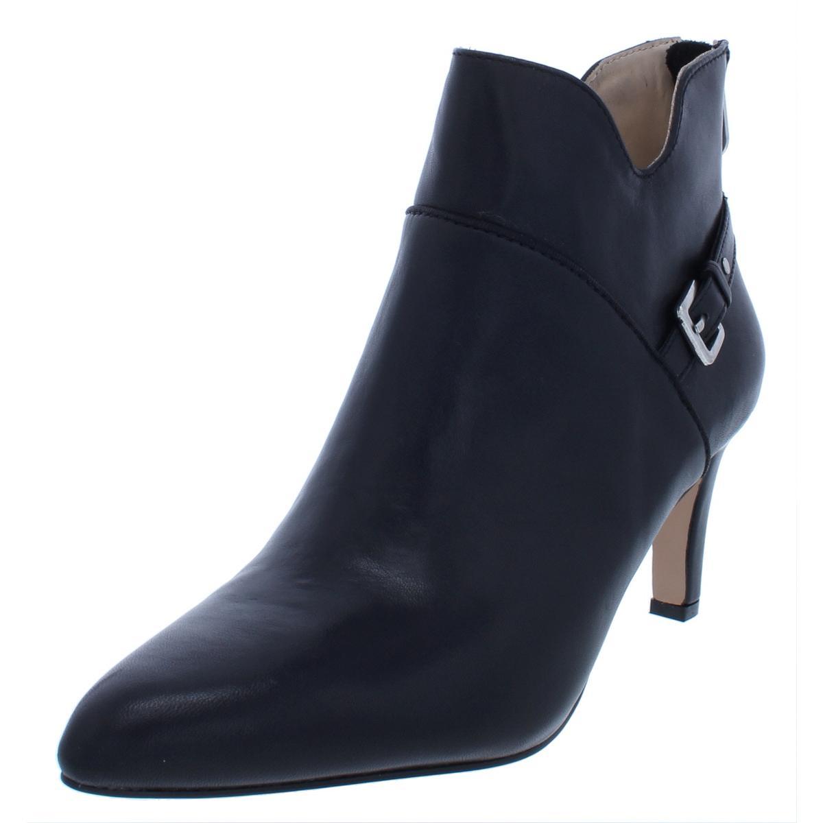 Adrienne Vittadini Damenschuhe Shaye Buckle Pointed Toe Heel BHFO Booties Schuhes BHFO Heel 7006 a6f456