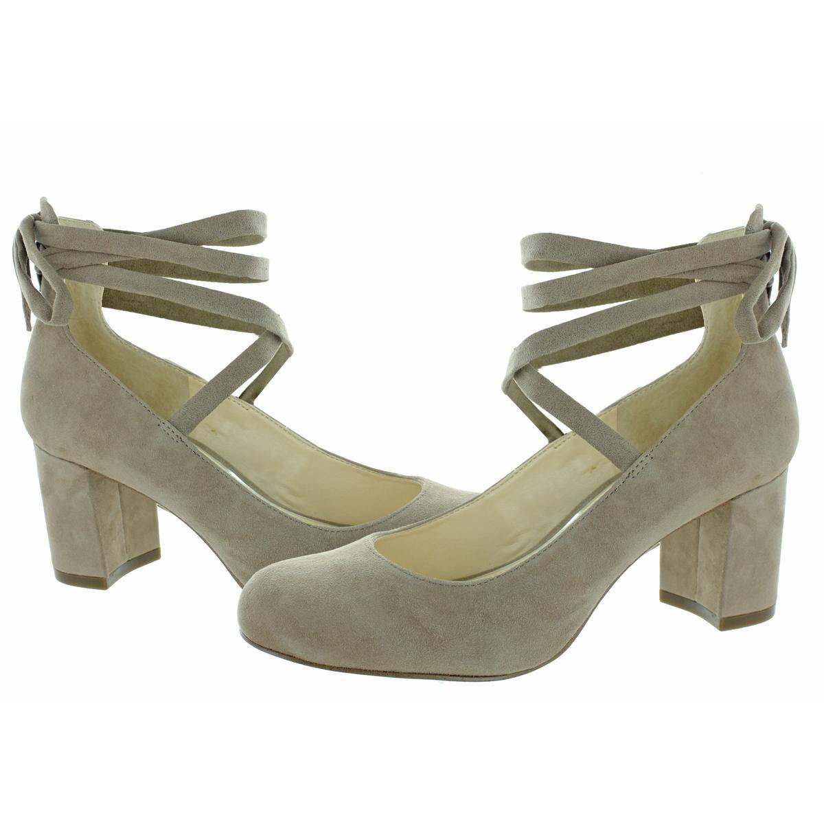 Jessica-Simpson-Venya-Women-039-s-Block-Heel-Lace-Pumps-Dress-Shoes thumbnail 6