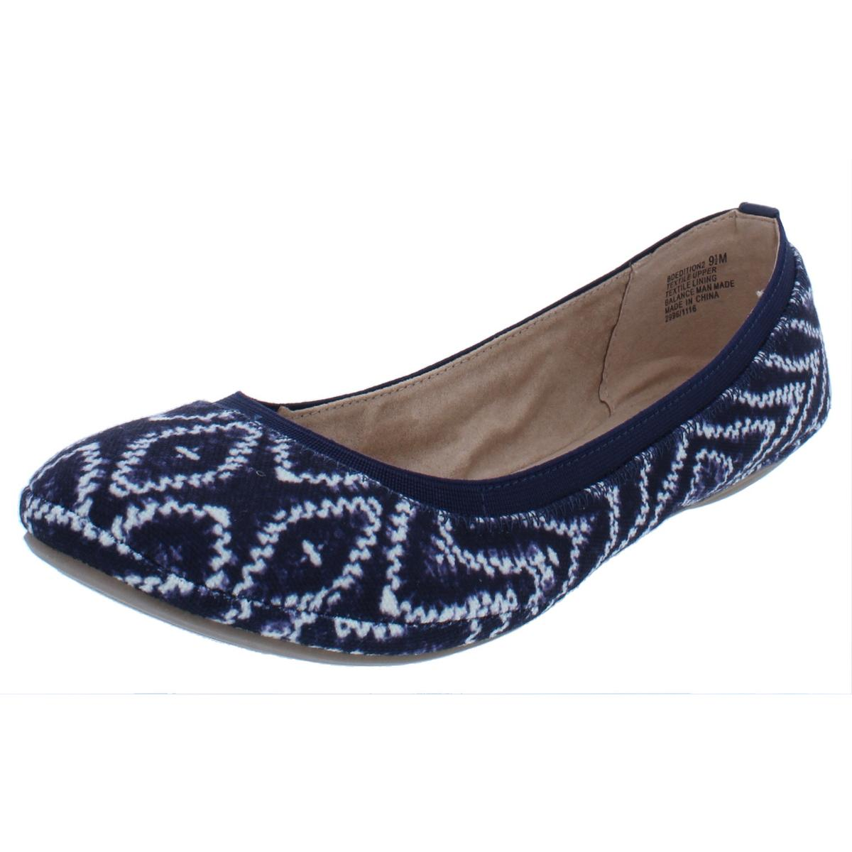 9a6a4aa27c Details about Bandolino Womens Edition Stretch Round Toe Slip On Ballet  Flats Shoes BHFO 7813