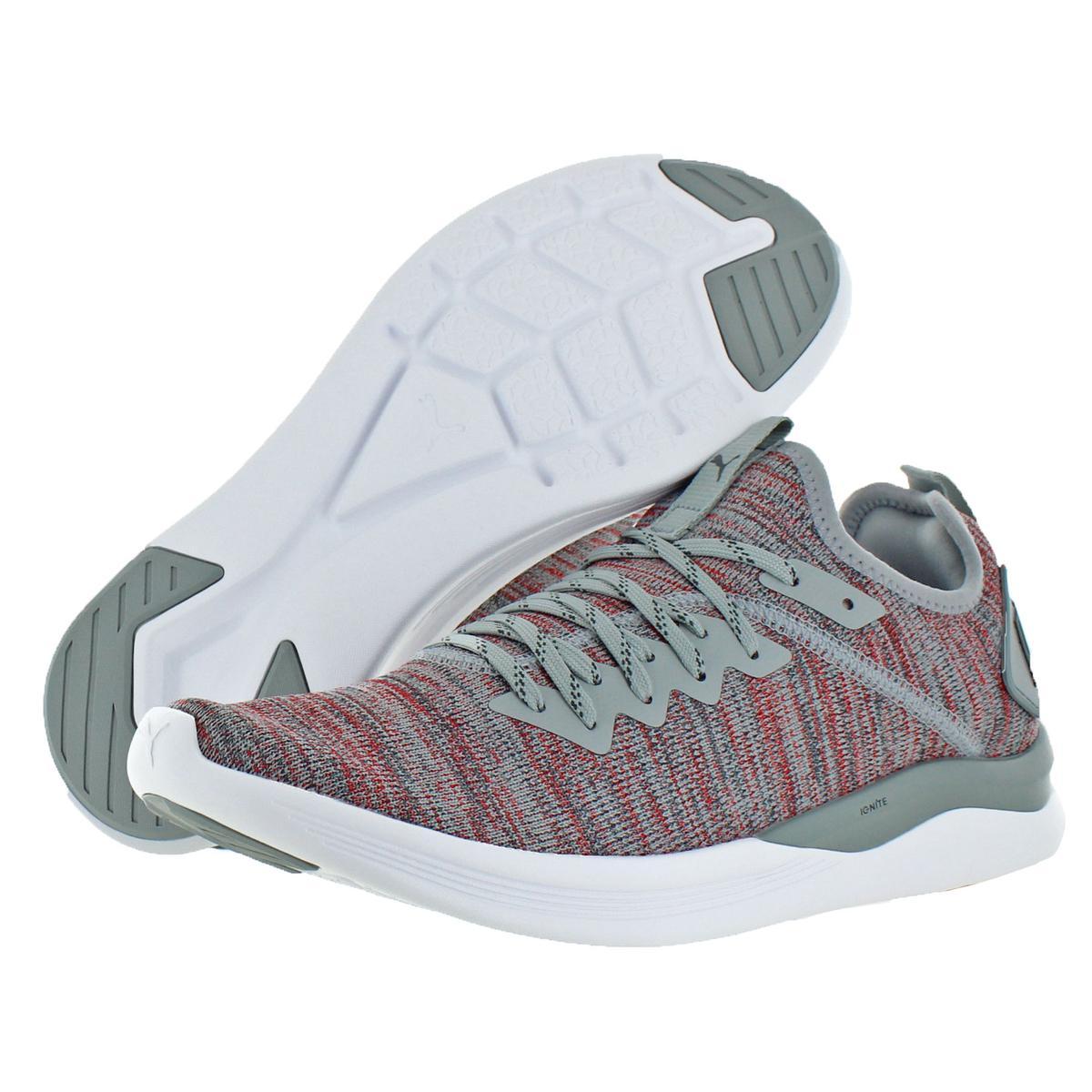 Puma-IGNITE-Flash-evoKNIT-Men-039-s-Knit-Mid-Top-Athleisure-Trainer-Sneaker-Shoes thumbnail 8