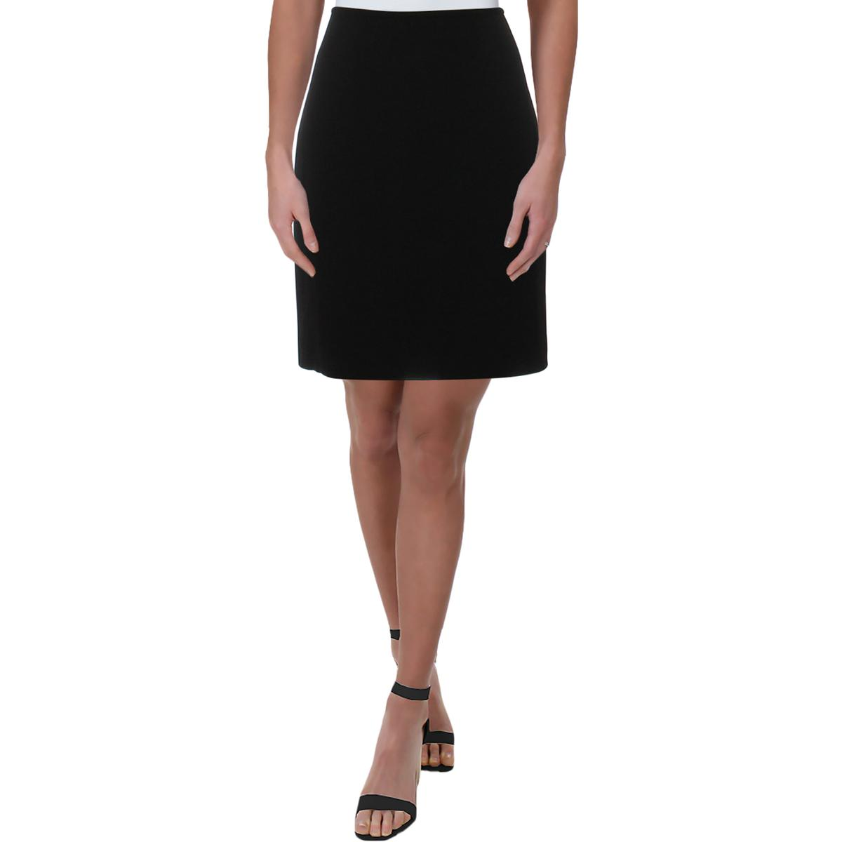 T Tahari Womens Aline Faux Leather Wear To Work Pencil Skirt BHFO 0519